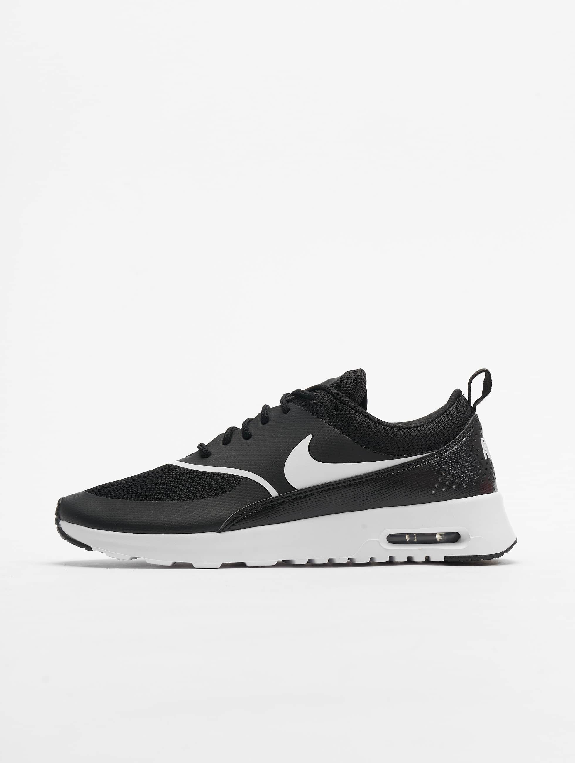 nike damen sneaker air max thea in schwarz 406574. Black Bedroom Furniture Sets. Home Design Ideas