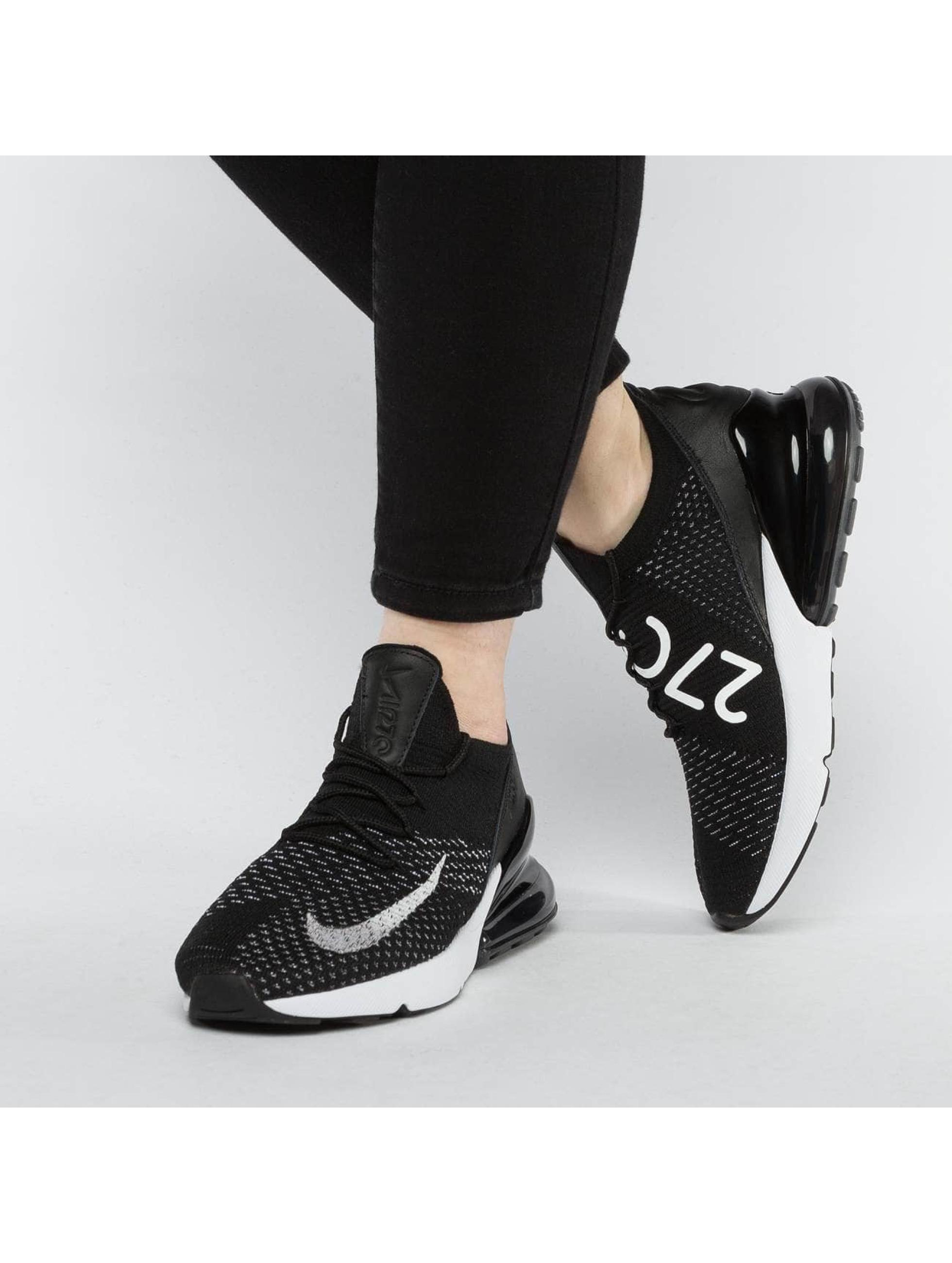 Nike Sneaker Air Max 270 Flyknit schwarz