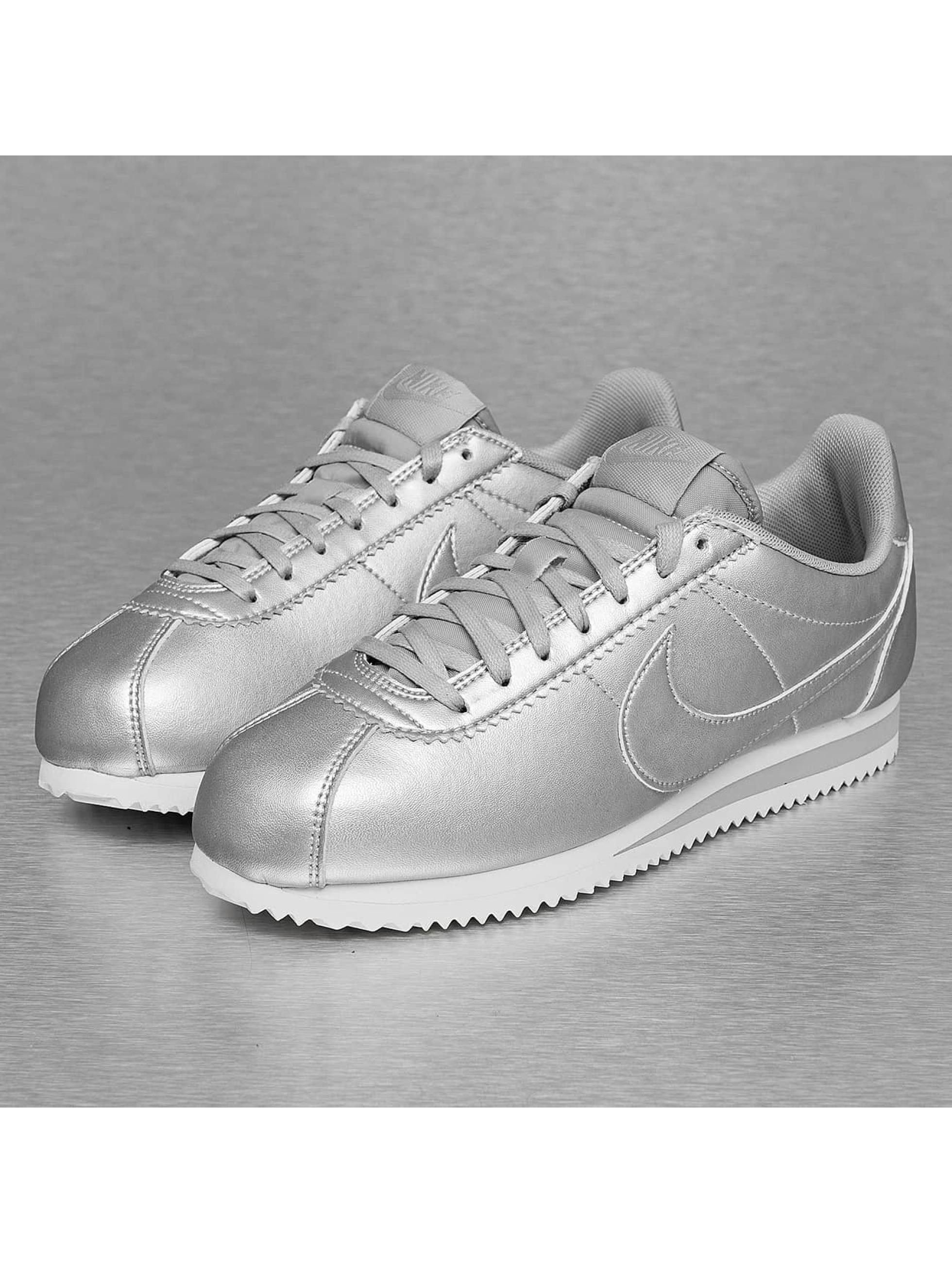 Sneaker Classic Cortez Leather in silberfarben