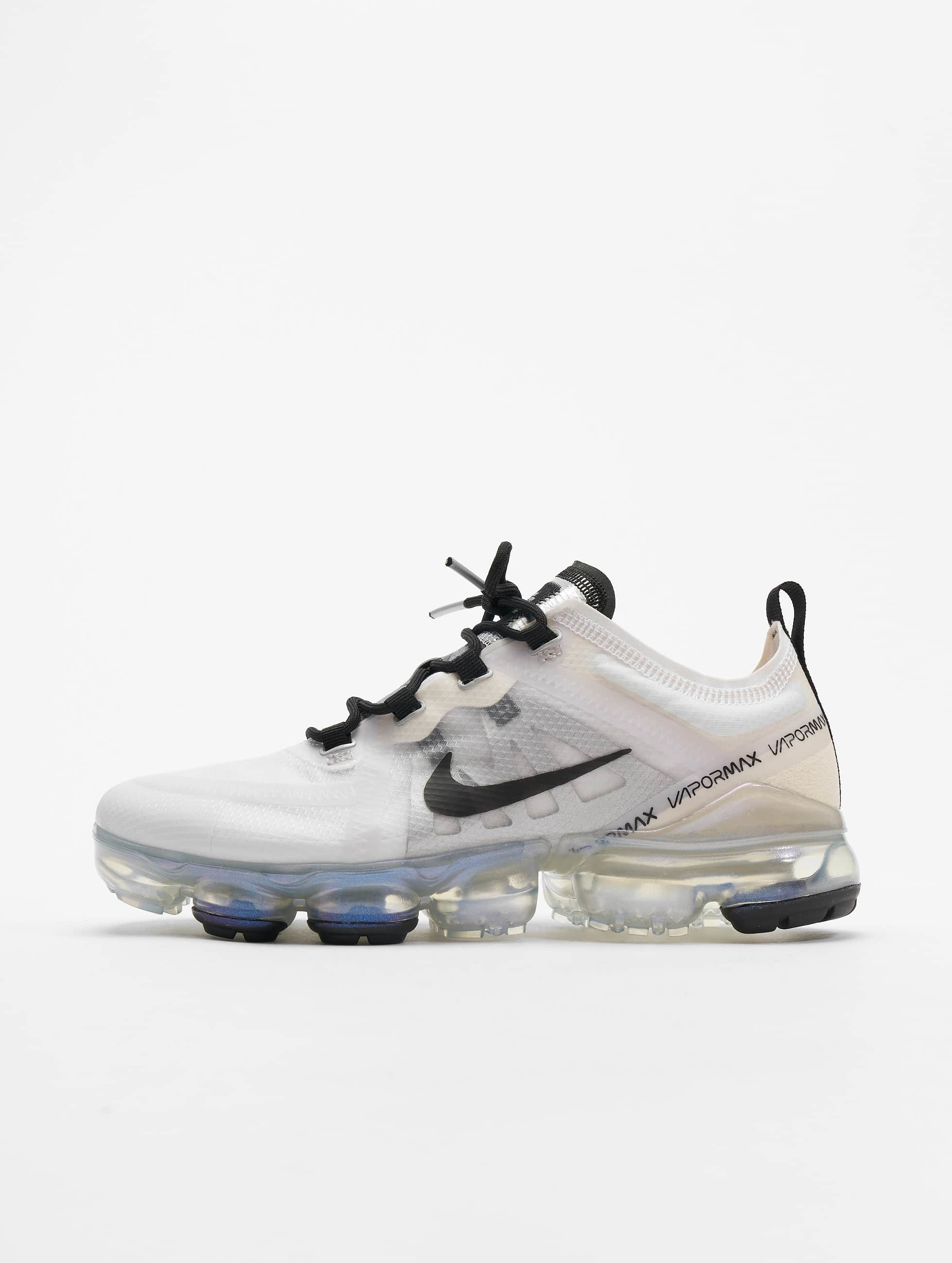 modische Muster Beste große Auswahl Nike Air Vapormax 2019 Sneakers White/Black/Pale Ivory/Metallic_Silvern