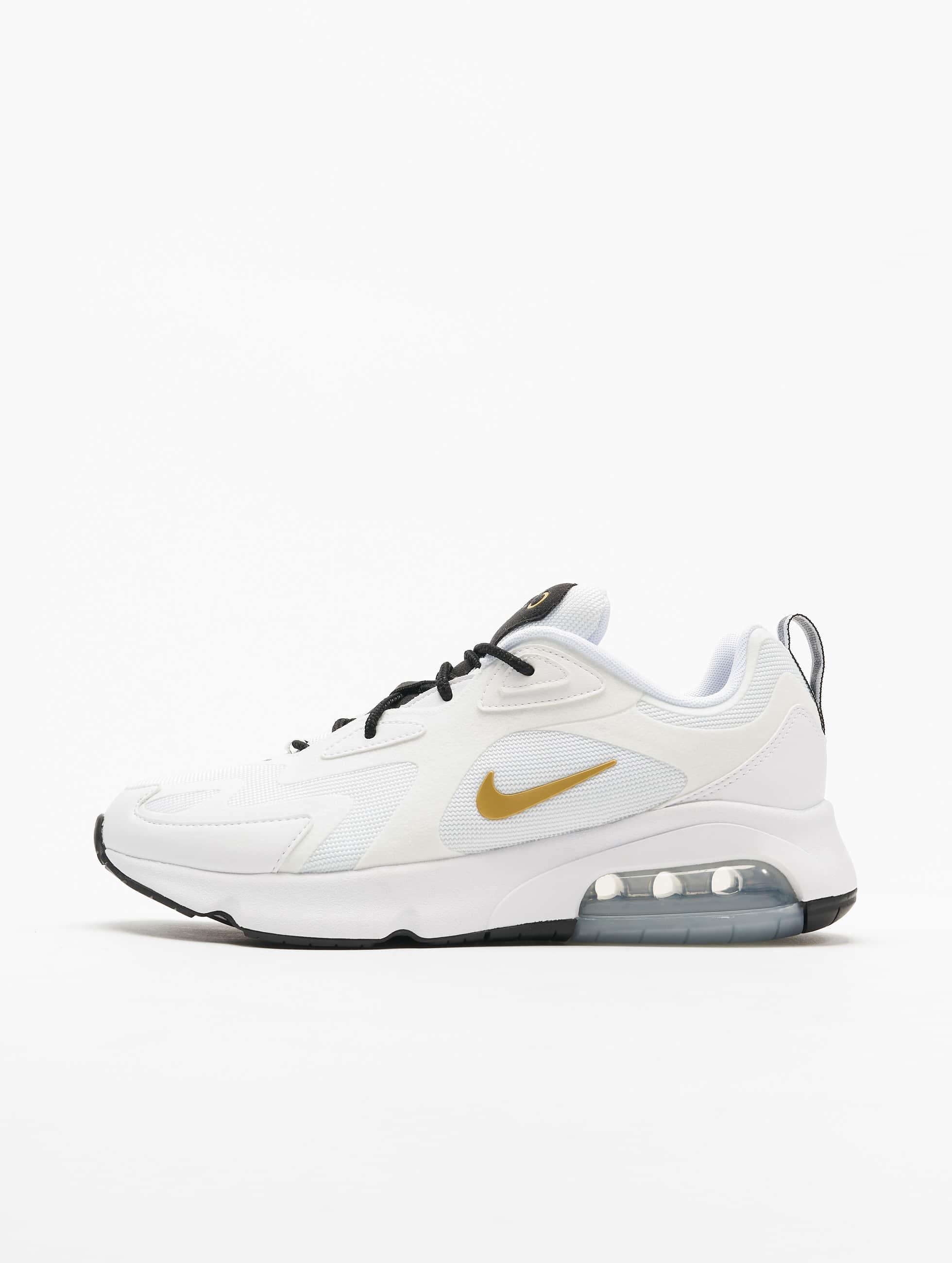 Nike Air Max 200 Sneakers White/Metallic Golden/Black