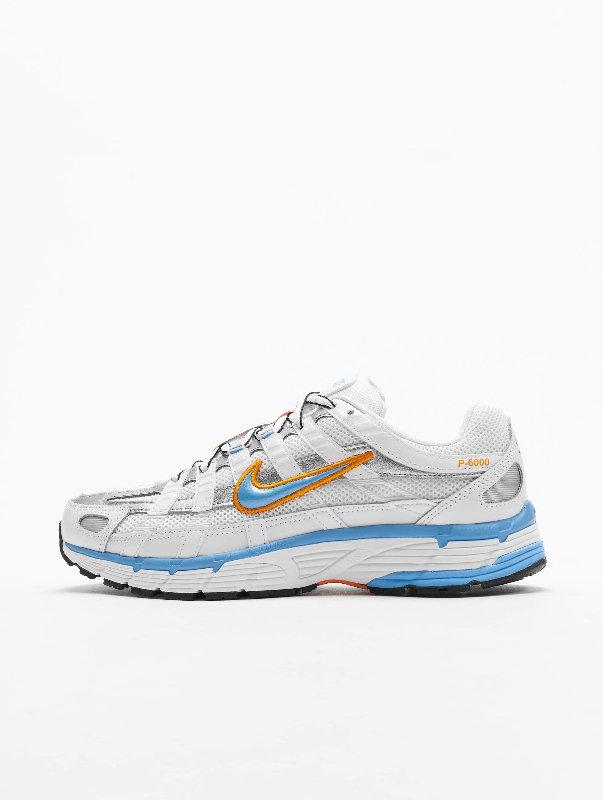 Nike P 6000 Sneakers WhiteUniversity BlueMetallic Silvern
