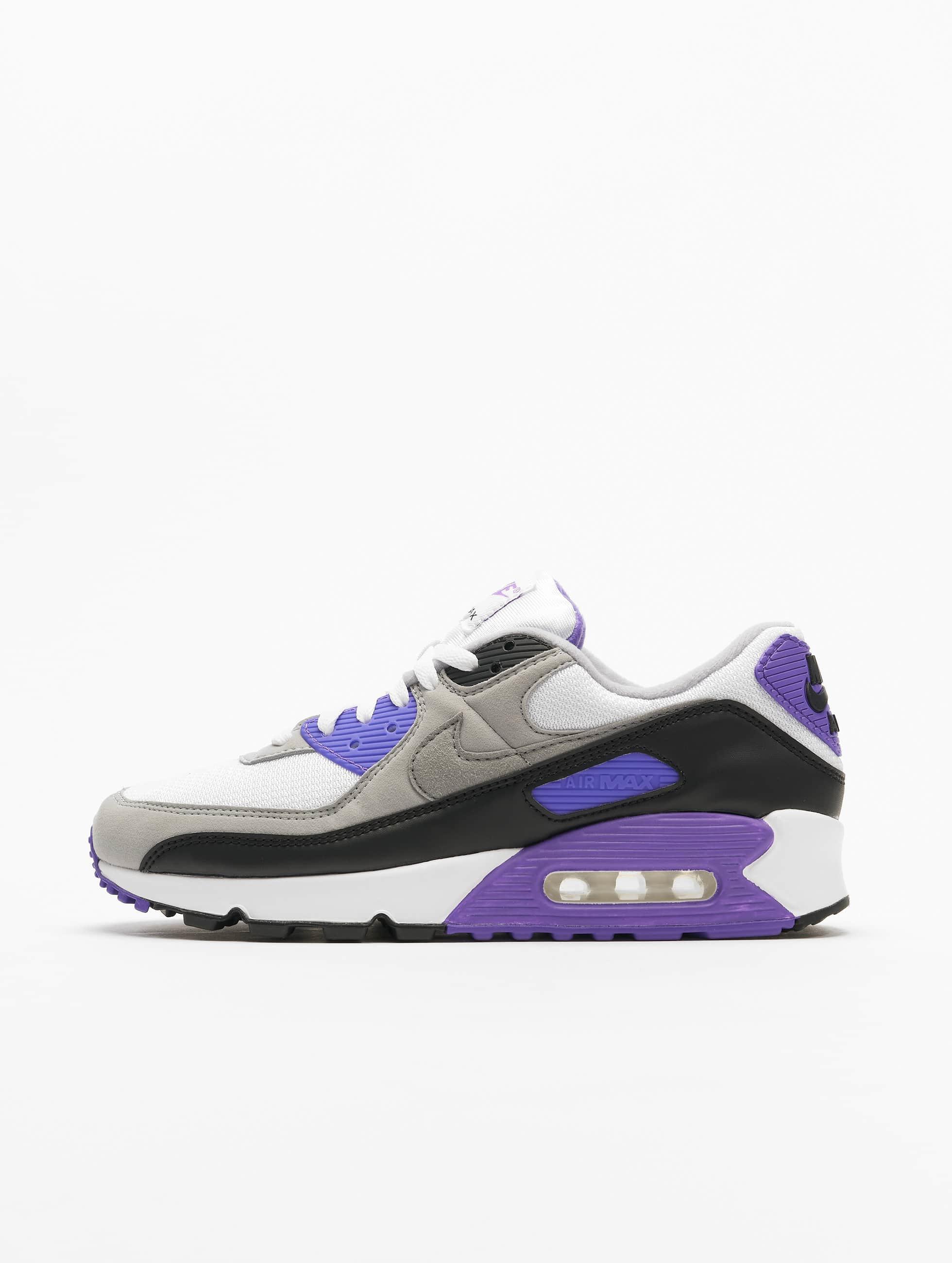 Nike Air Max 90 Sneakers WhiteParticle GreyHyper GrapeBlack