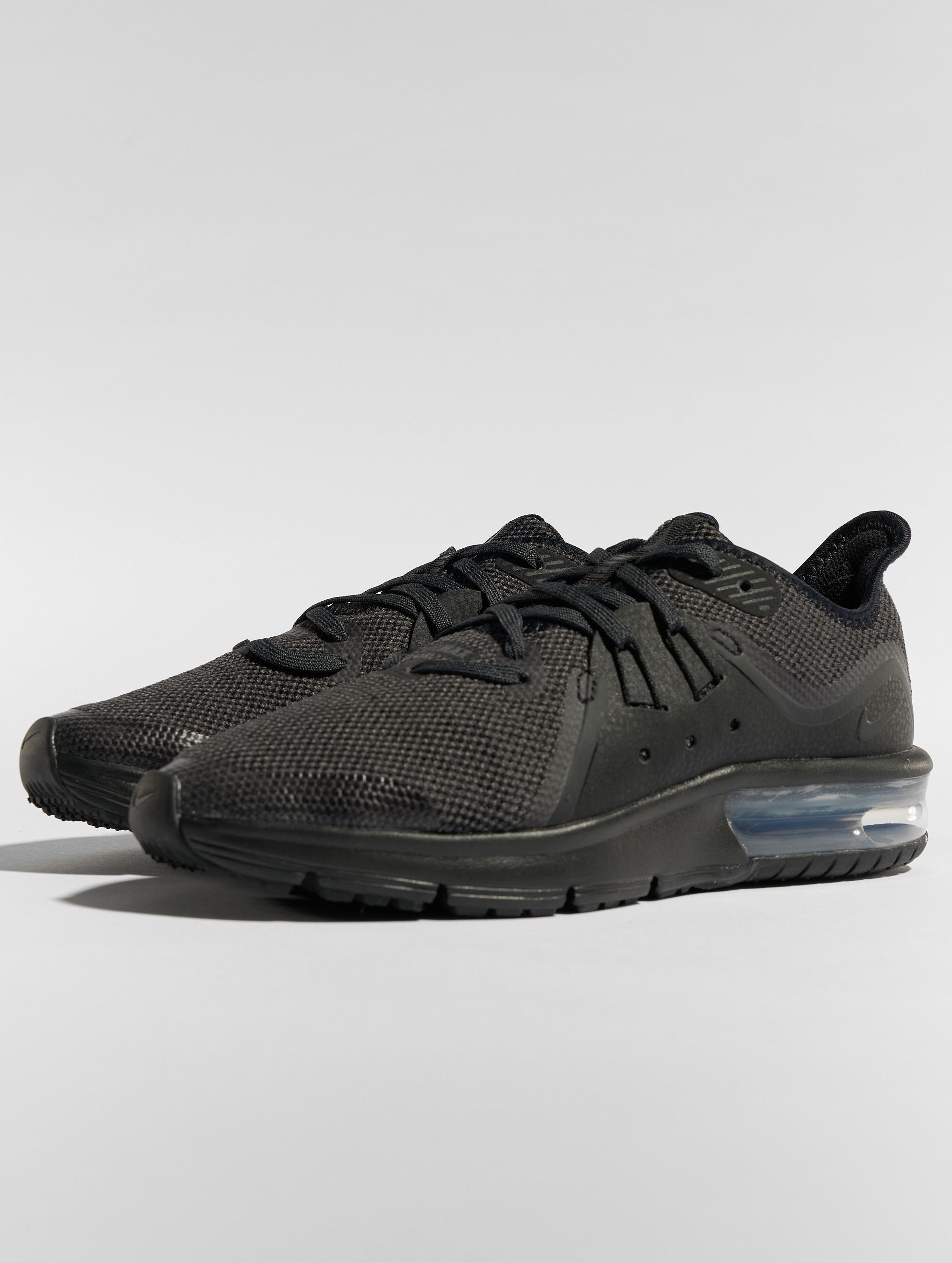 27a923266f3 Nike schoen / sneaker Air Max Sequent 3 in zwart 545160