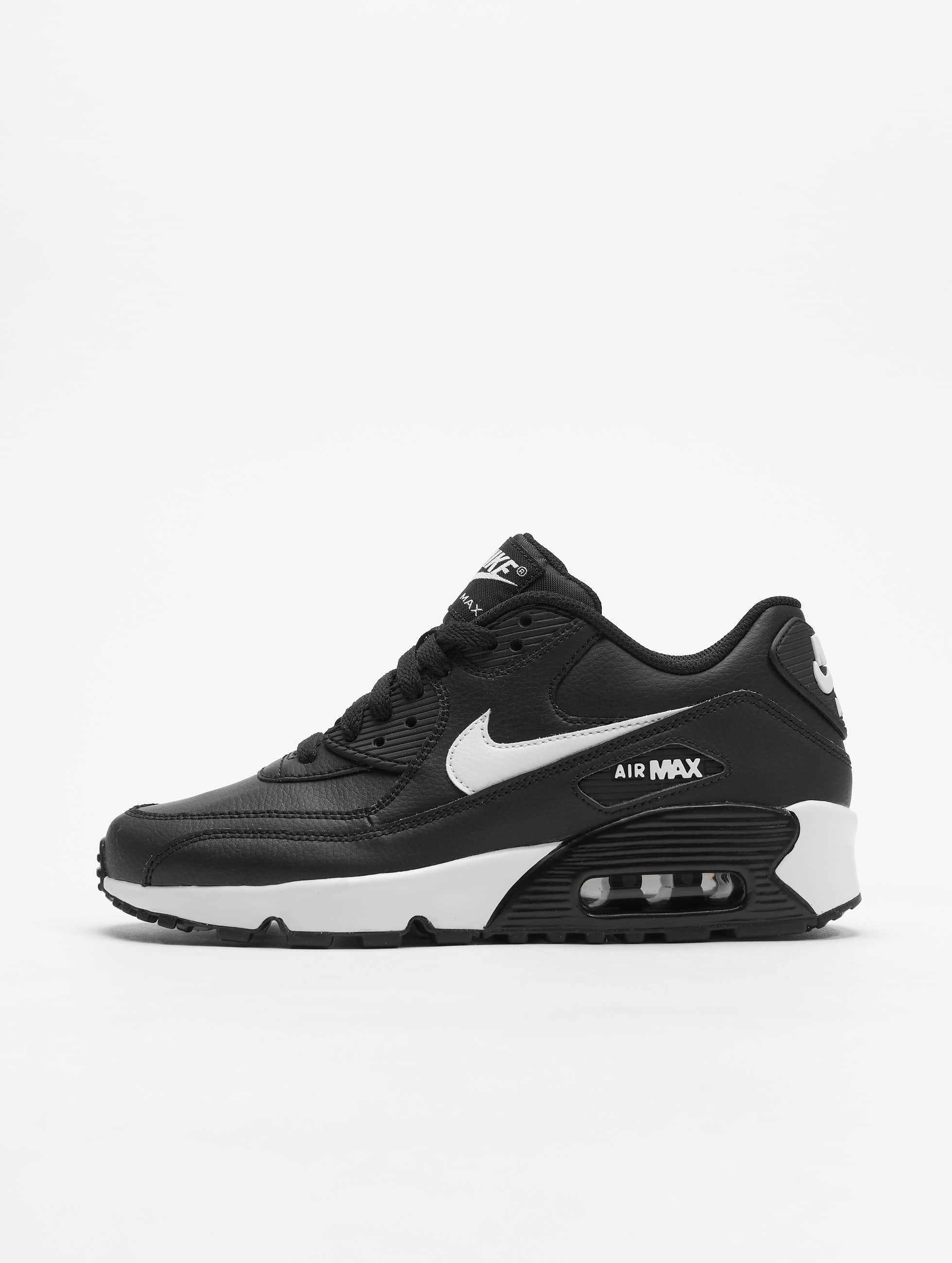de42720c350 Nike schoen / sneaker Air Max 90 Leather in zwart 588256