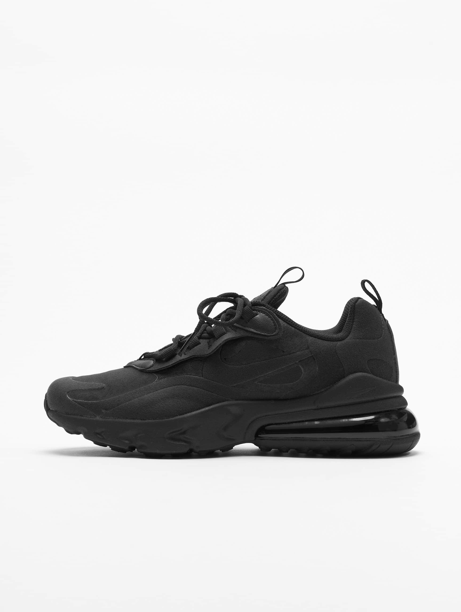 Nike Air Max 270 React (GS) Sneakers BlackBlackBlack