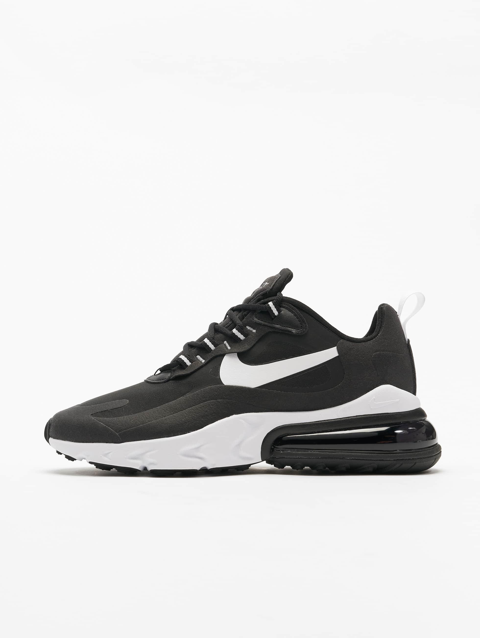 Nike Air Max 270 React Sneakers BlackWhiteBlack
