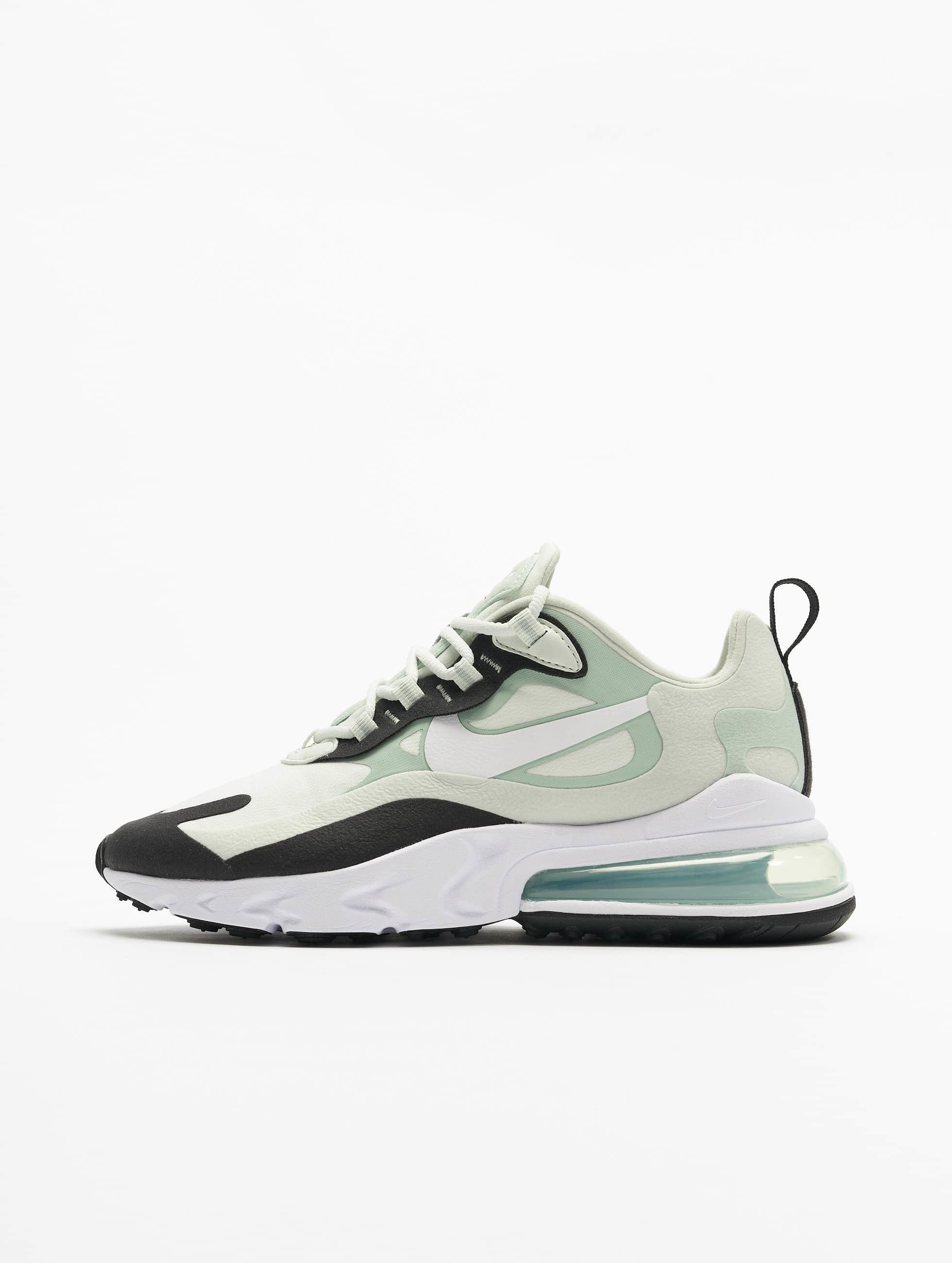 Nike Air Max 270 React Sneakers Spruce AuraWhitePistachio FrostBlack