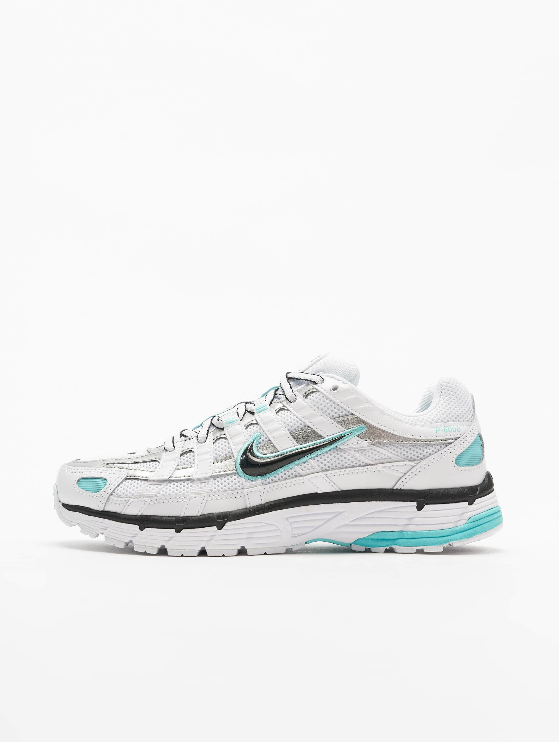 Nike P 6000 Sneakers WhiteBlackMetallic SilvernLight Aqua