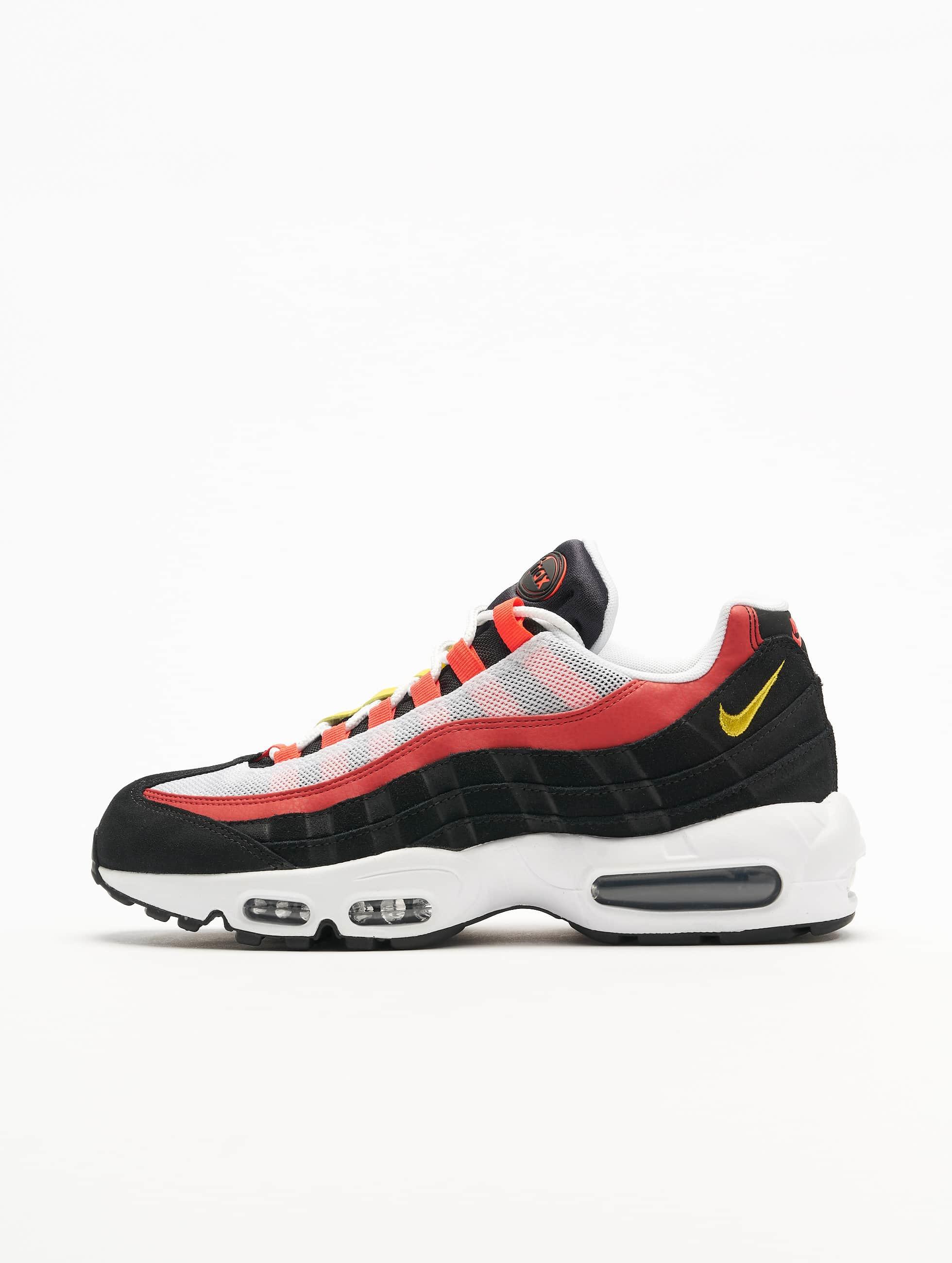 Nike Air Max 95 Essential Sneakers WhiteChrome YellowBlackBright Crimson