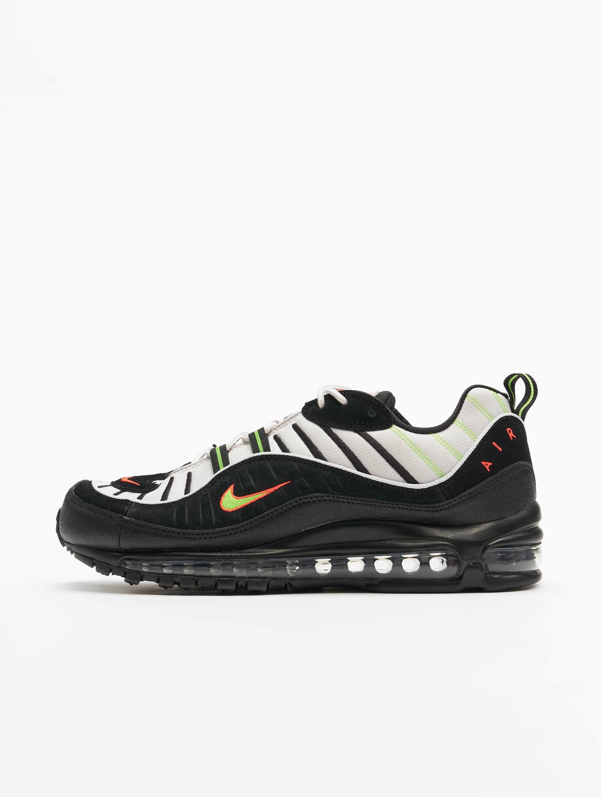 Nike Air Max 98 Sneakers Platinum TintBlackElectric Green
