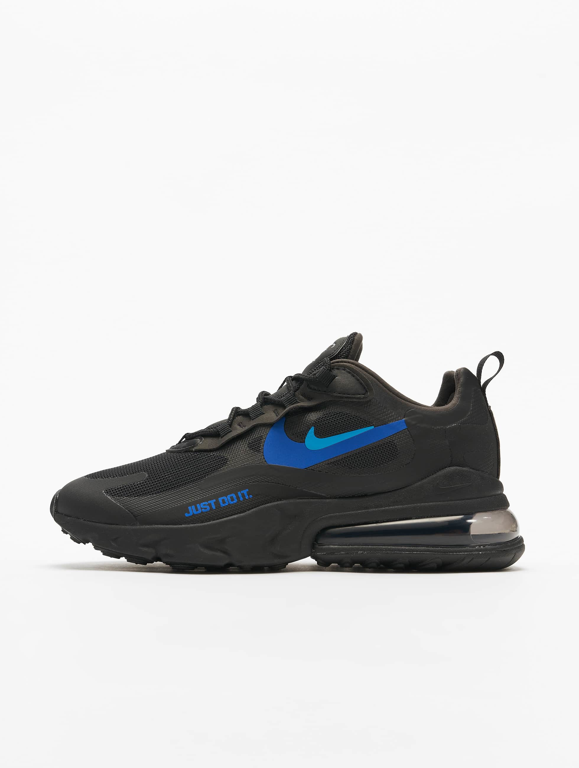 Nike Air Max 270 React Sneakers BlackBlue HeroHyper RoyalCool Grey