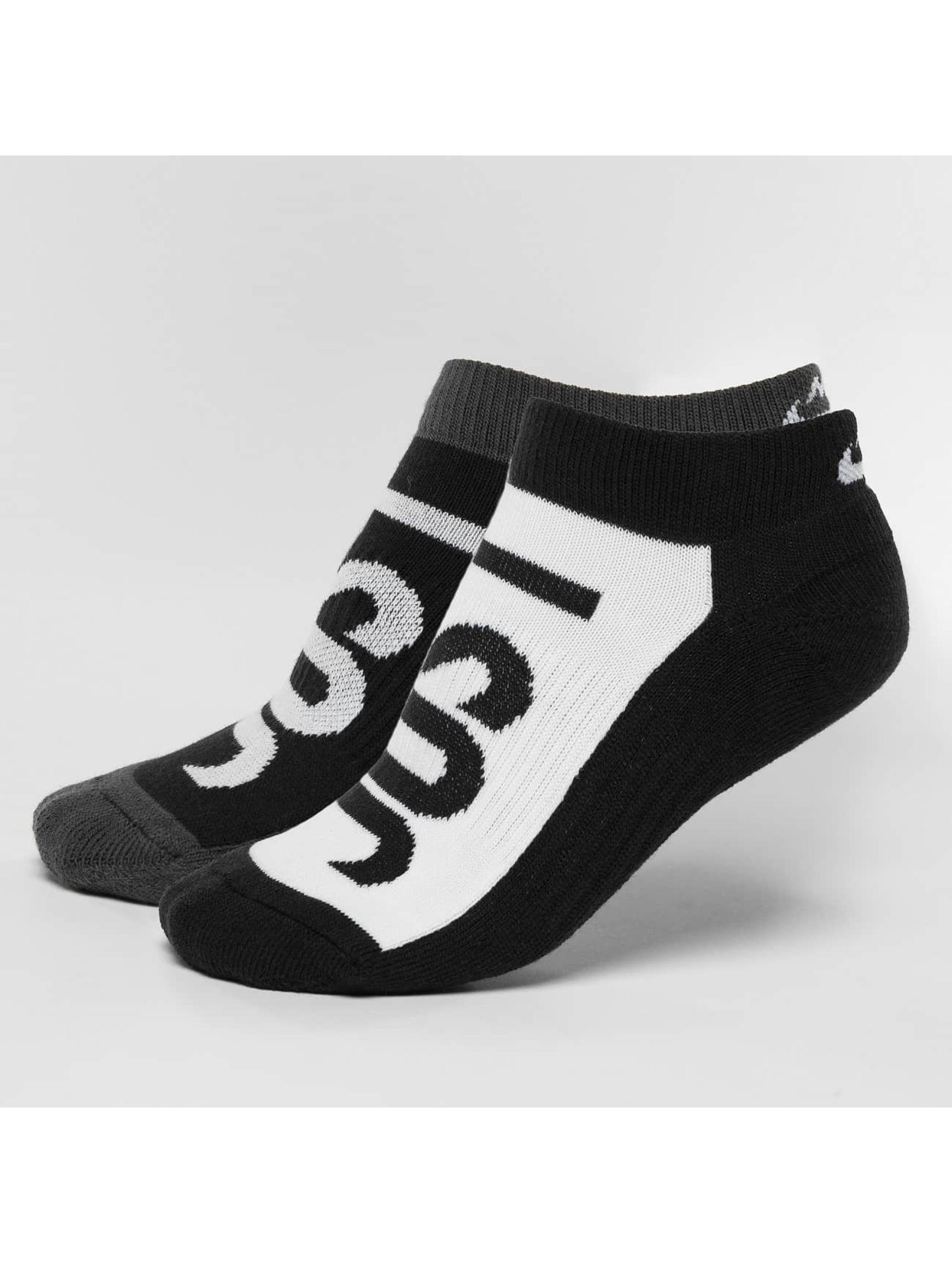 Nike Sukat Sportswear No-Show 2 Pair musta