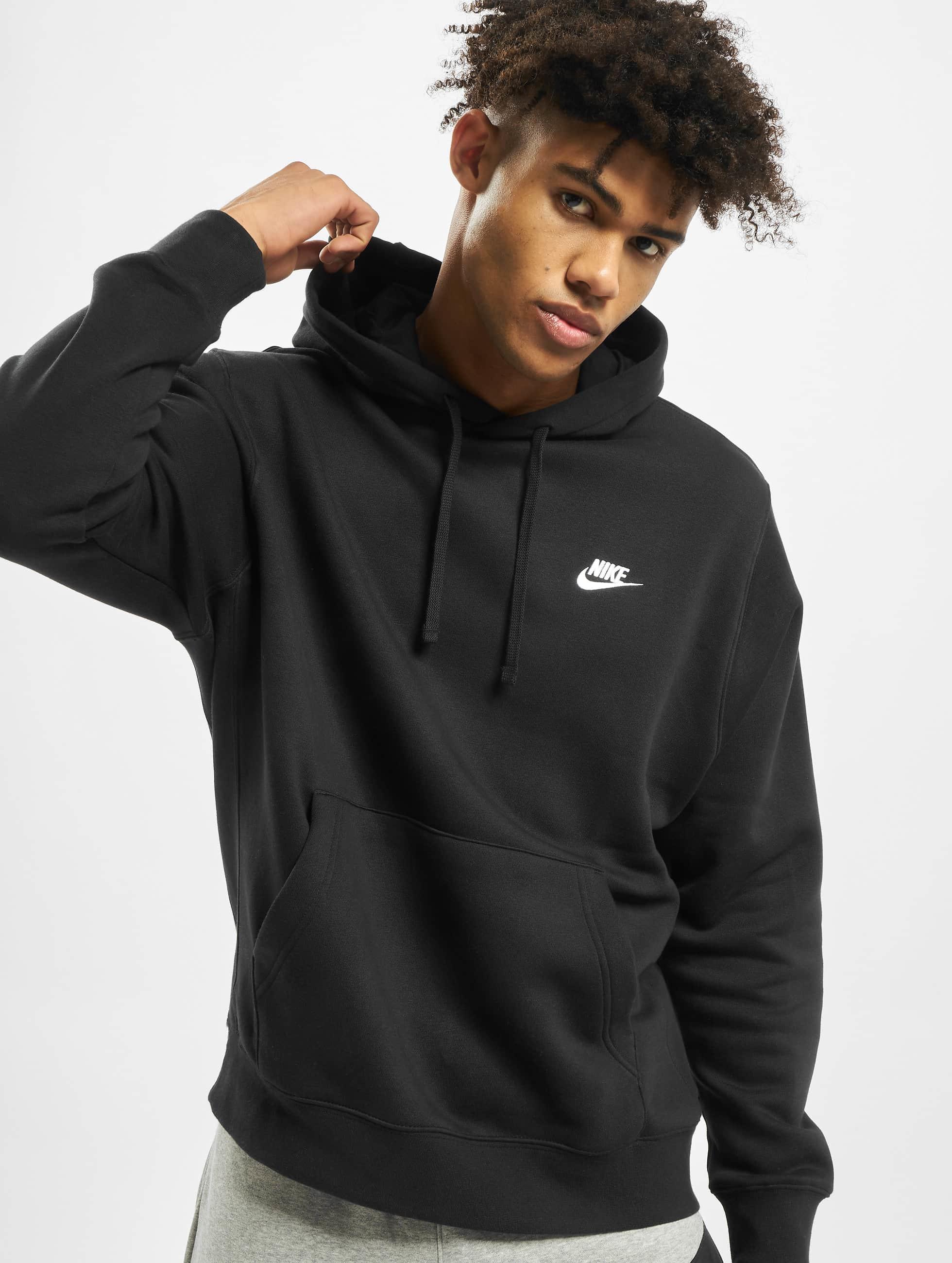 Nike Club PO BB Hoody BlackBlackWhite