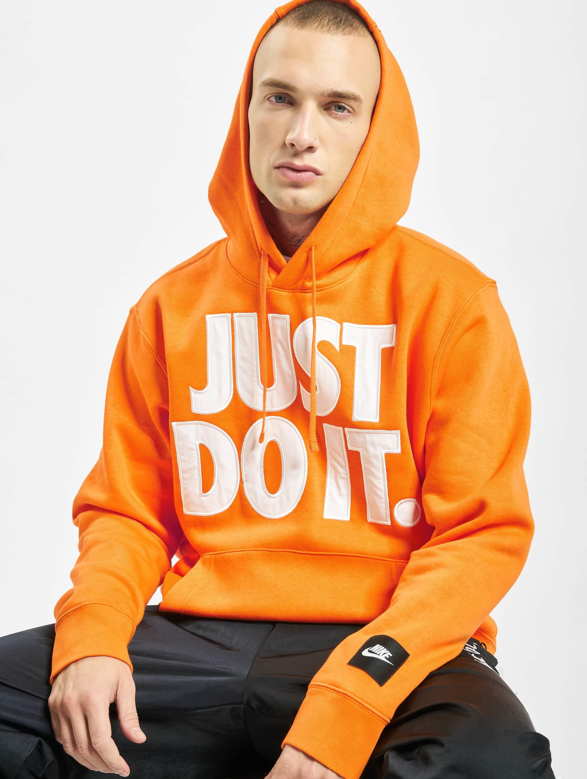 Nike JDI Fleece Mix Hoodie Bright CeramicWhite