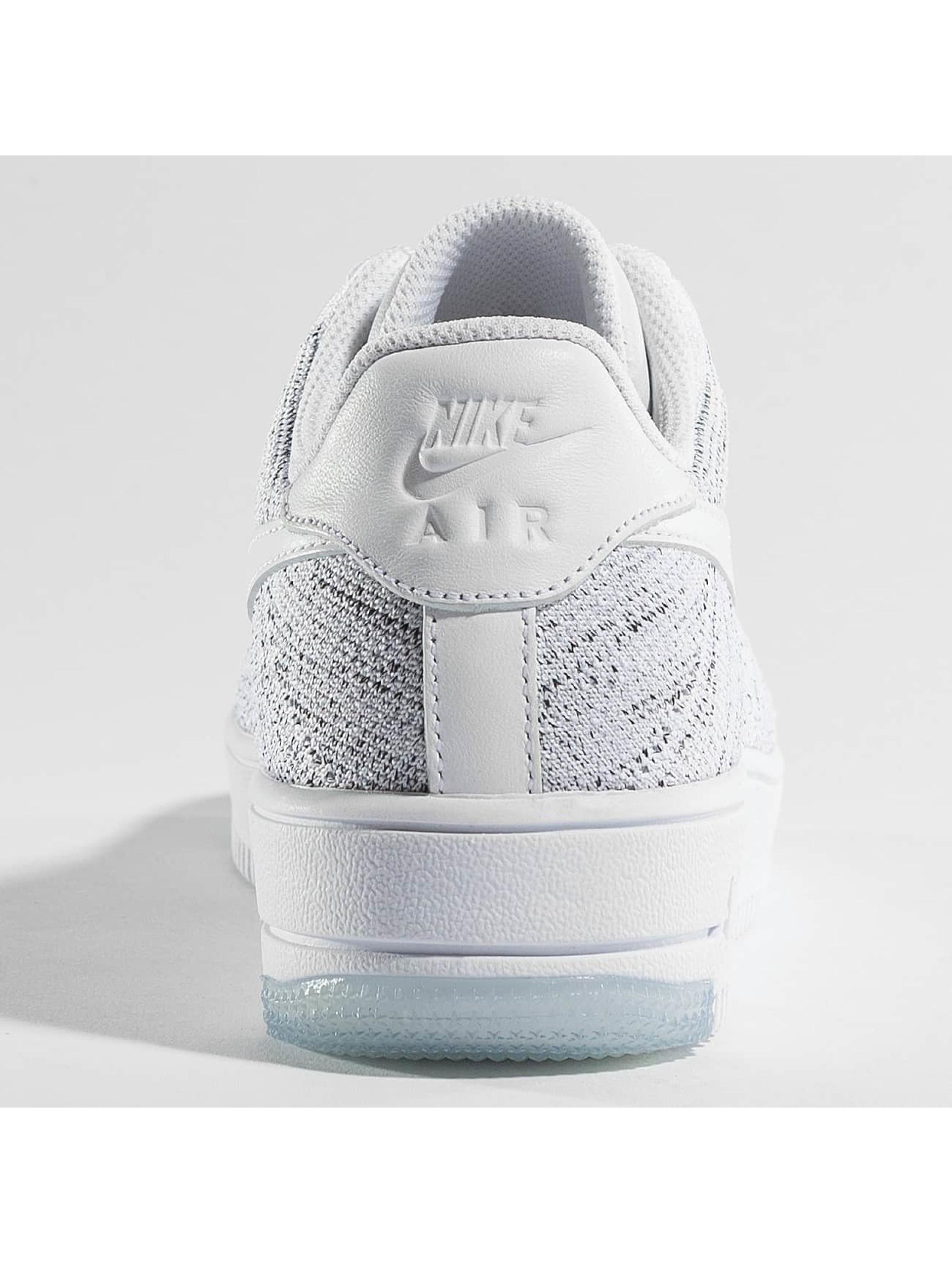 Nike Tøysko Air Force 1 Flyknit Low hvit