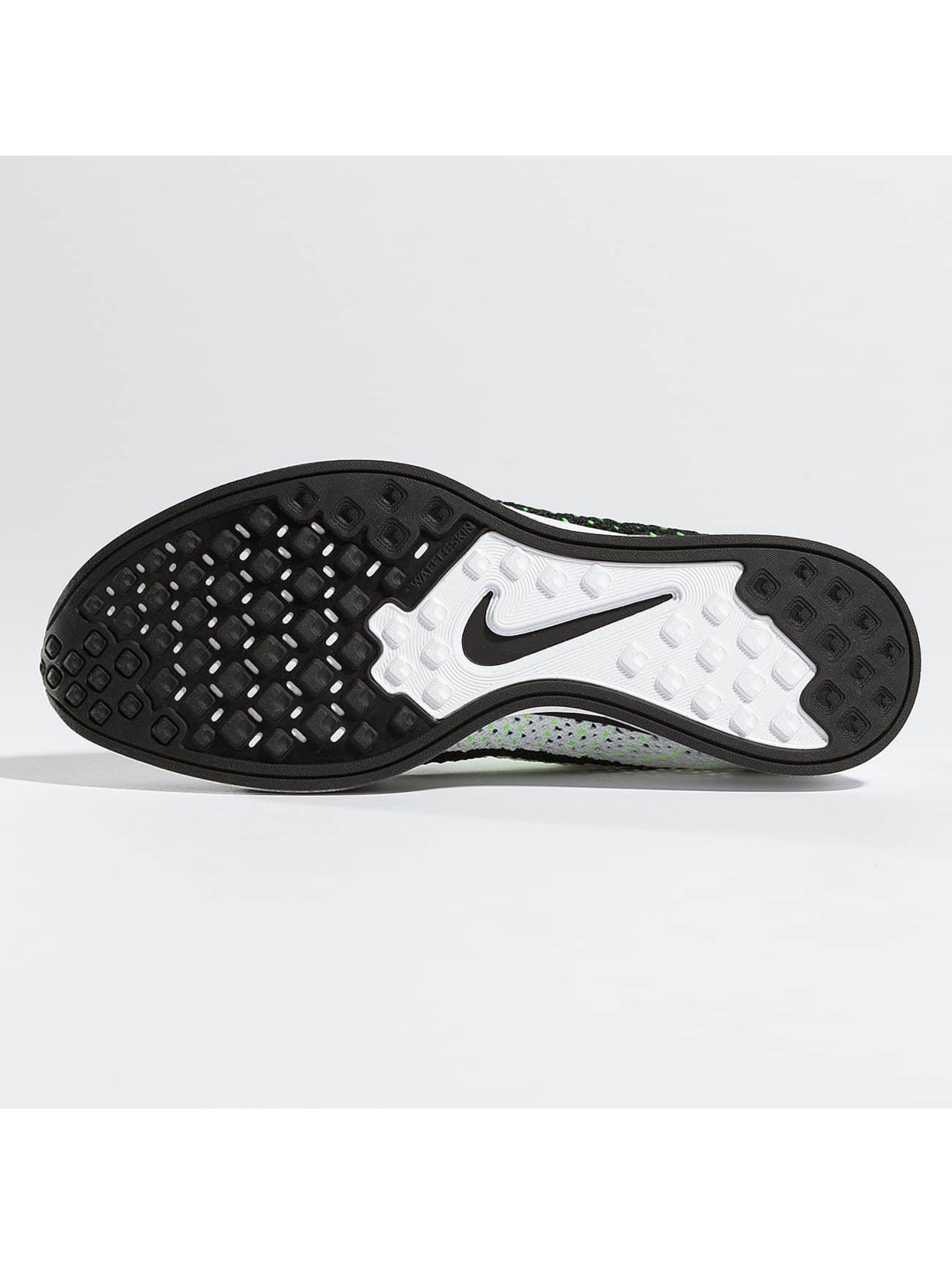Nike Tøysko Flyknit Racer Running svart