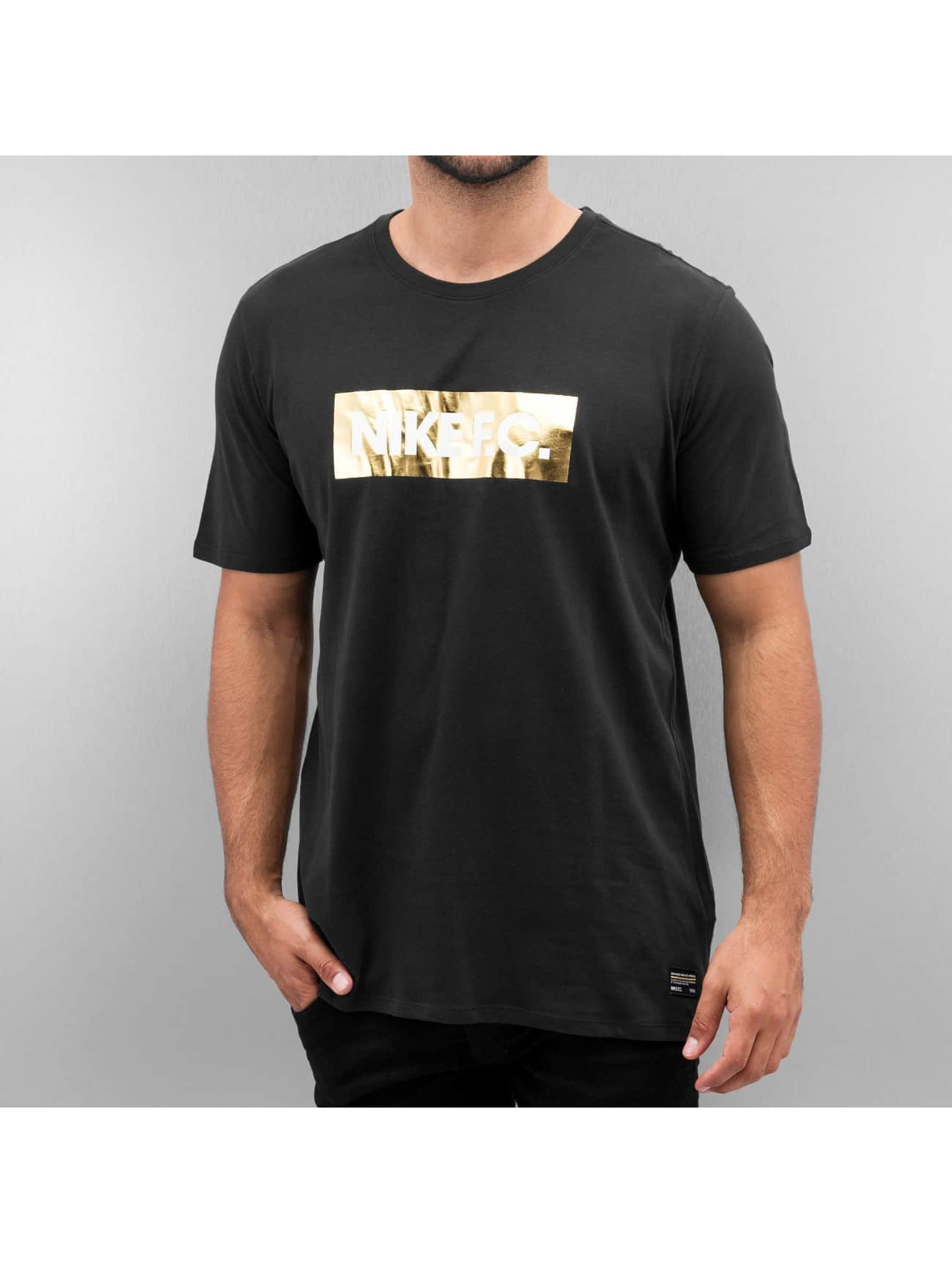 Nike T-paidat F.C. Foil musta
