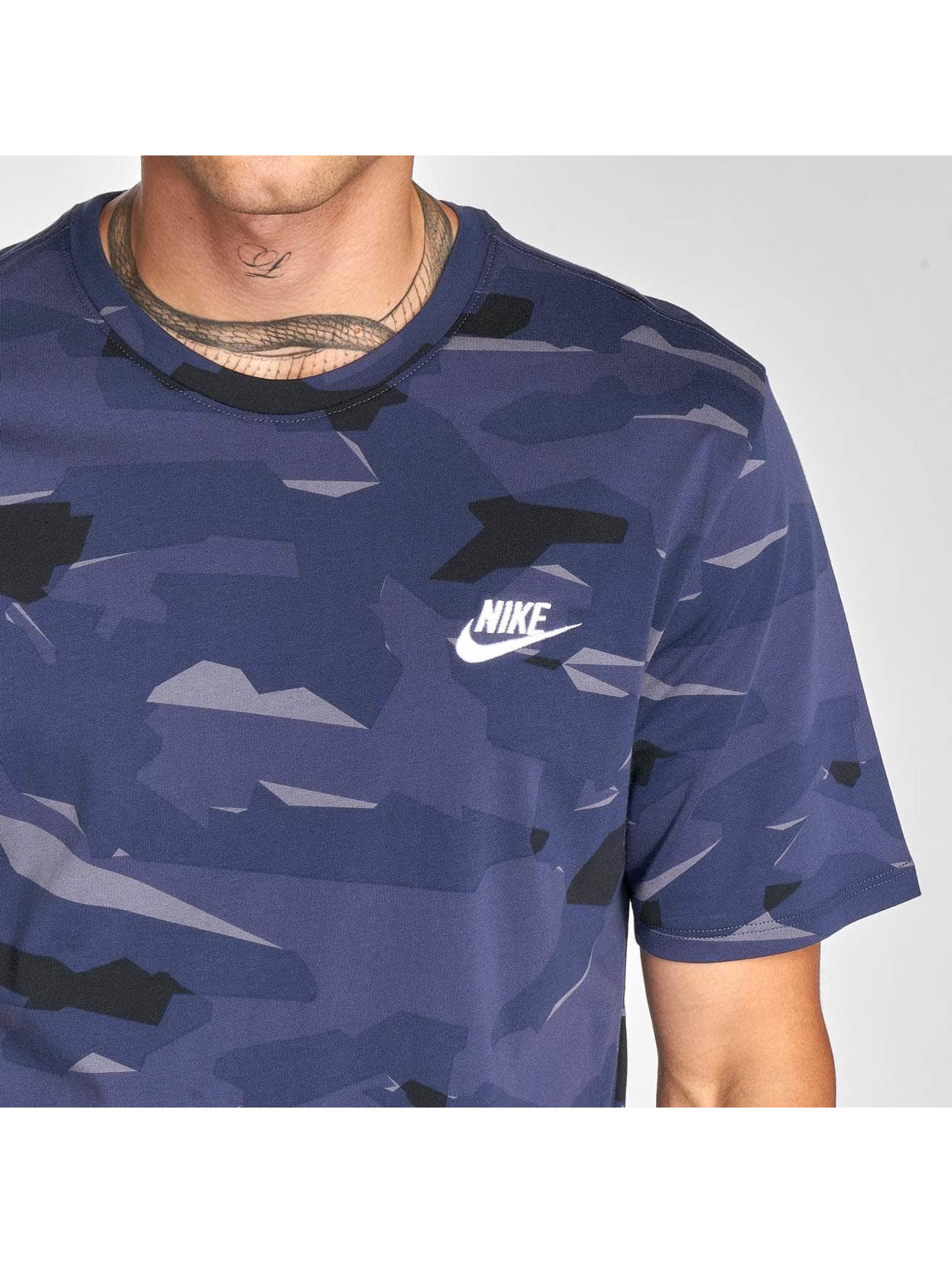 new concept e8937 37fe2 Nike T-paidat Pack 1 Camo sininen