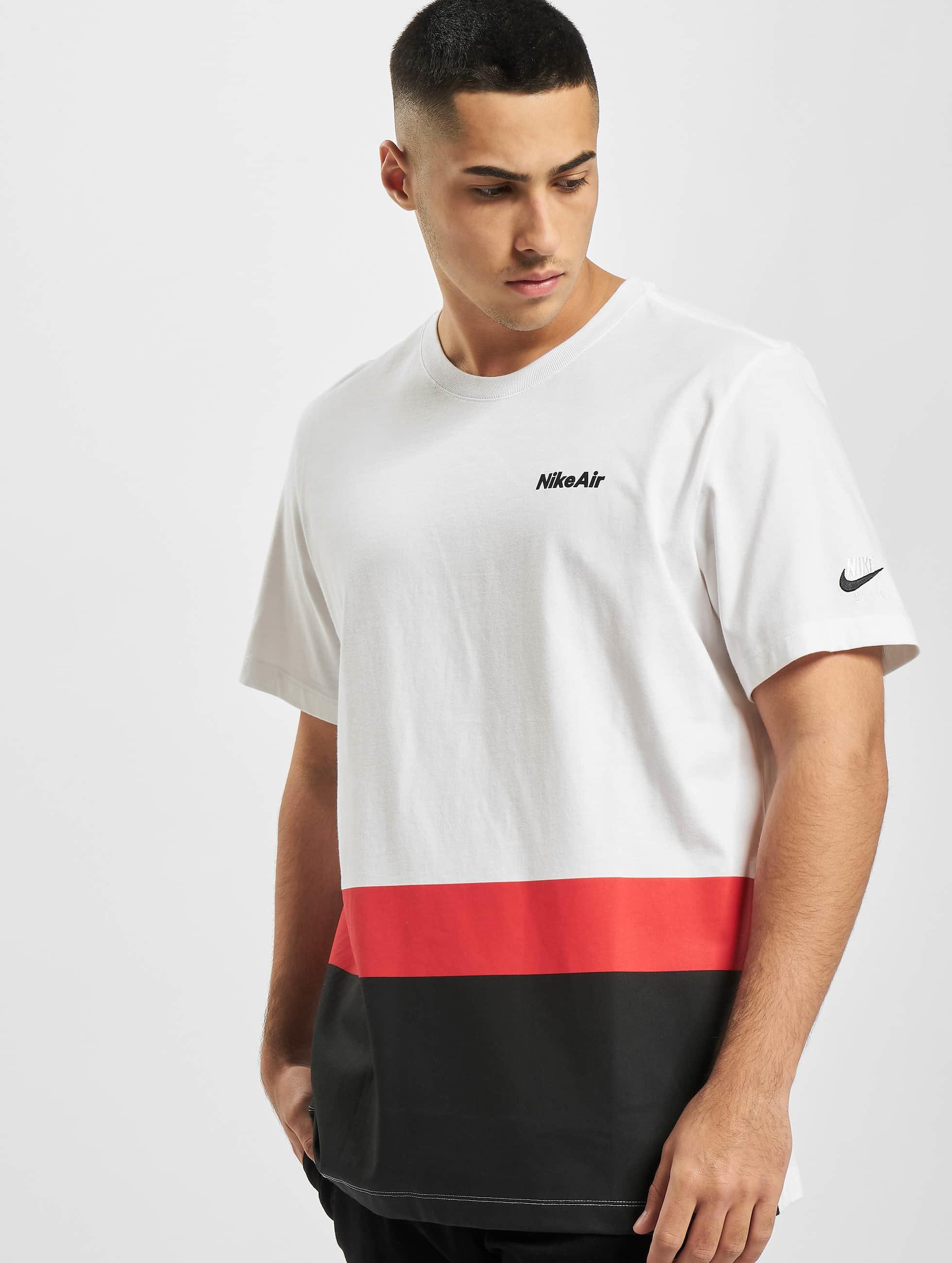 Nike Air Blocked T Shirt WhiteUniversity Red