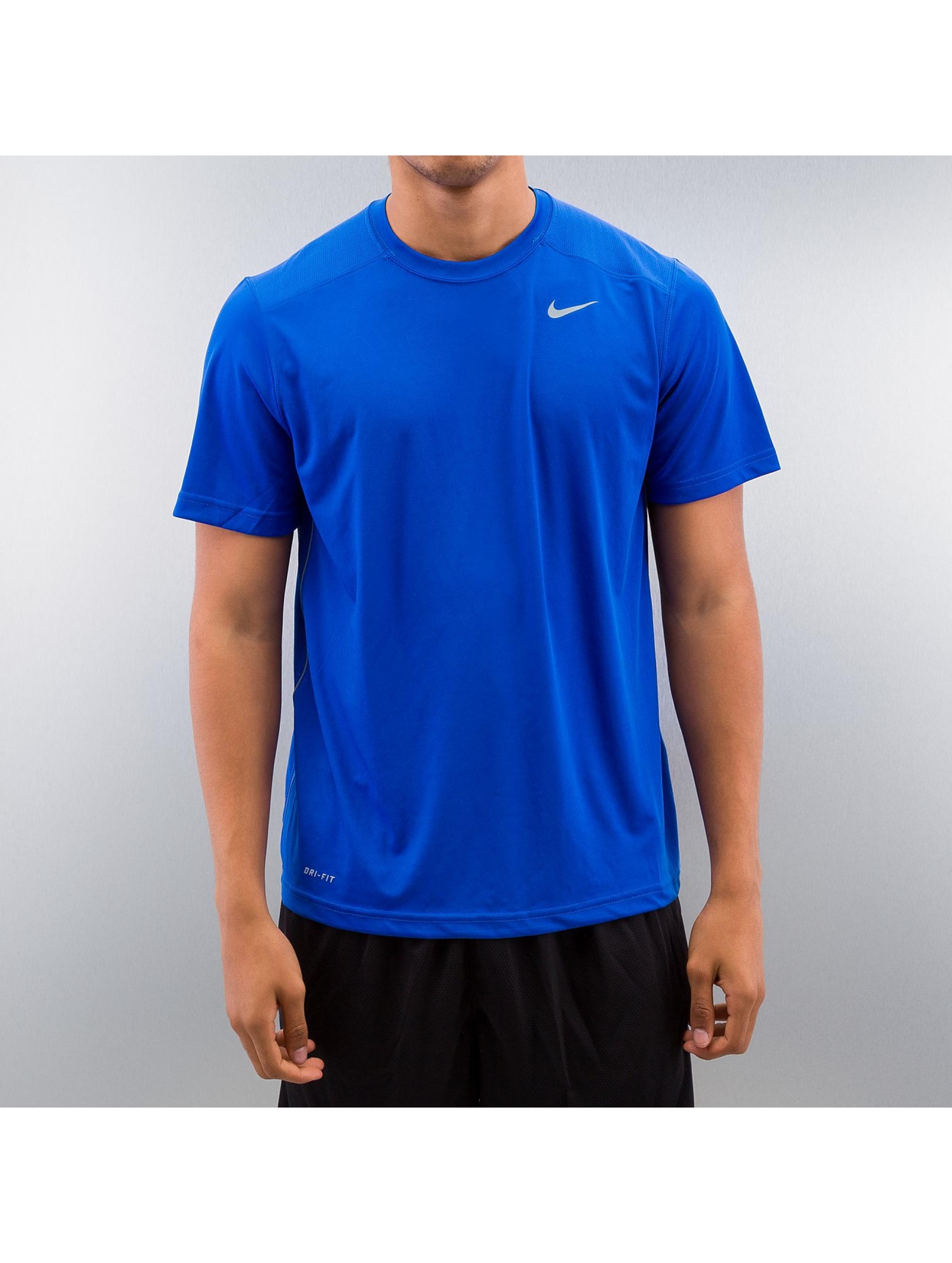 Nike t-shirt Legacy blauw