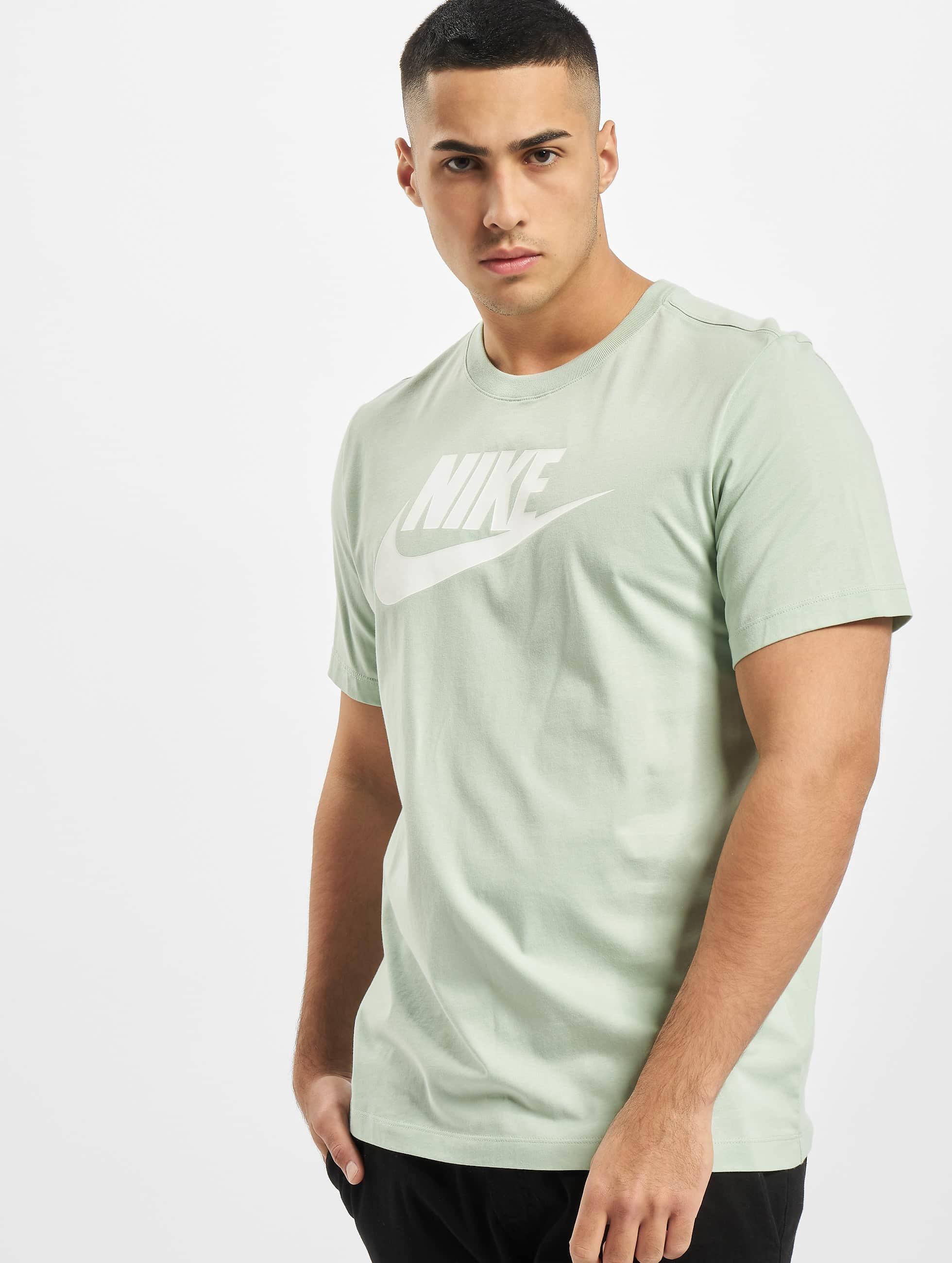 Nike Icon Futura T Shirt Pistachio FrostWhite