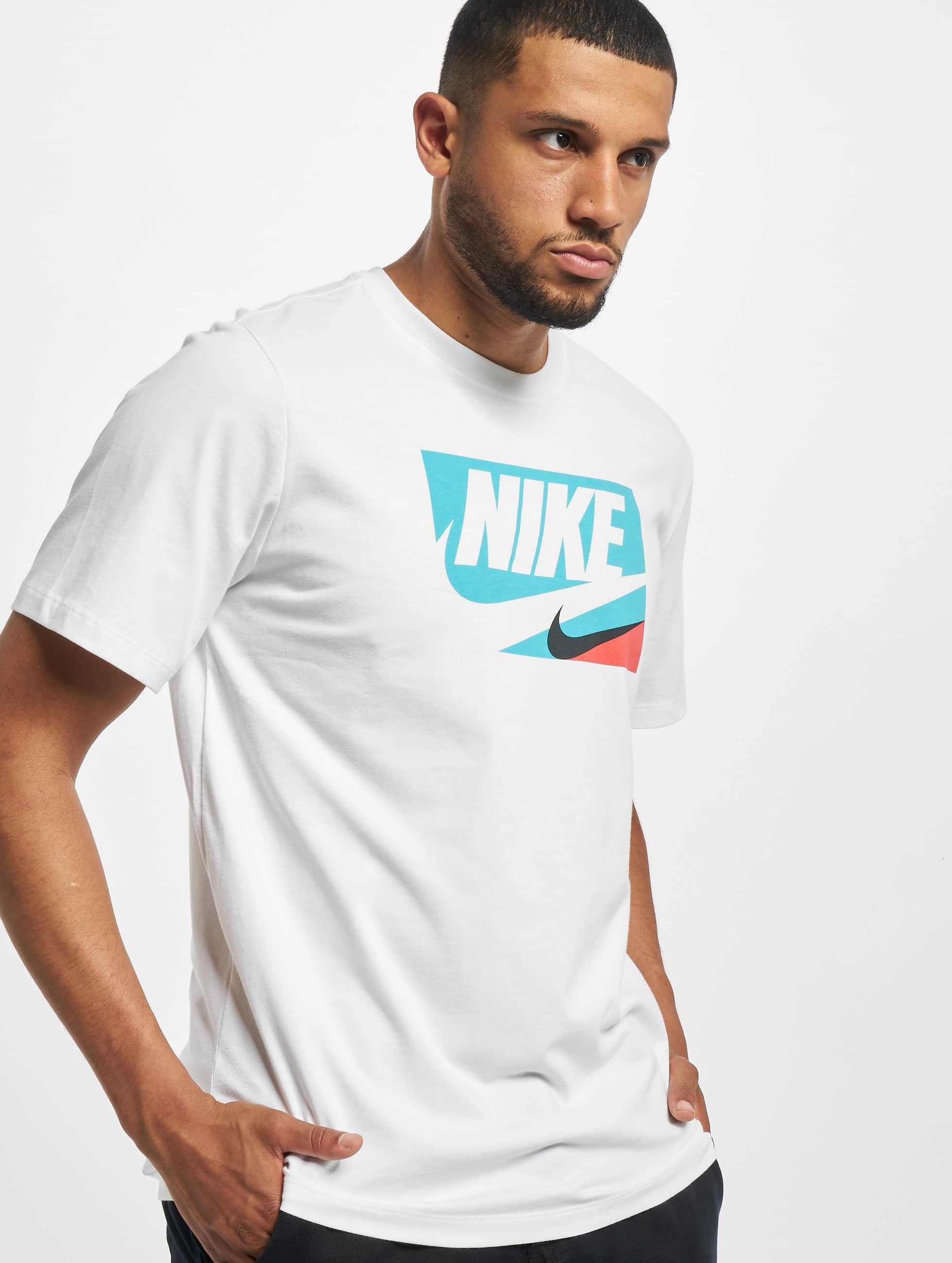 nike herren t-shirt core 1 in weiß 737983