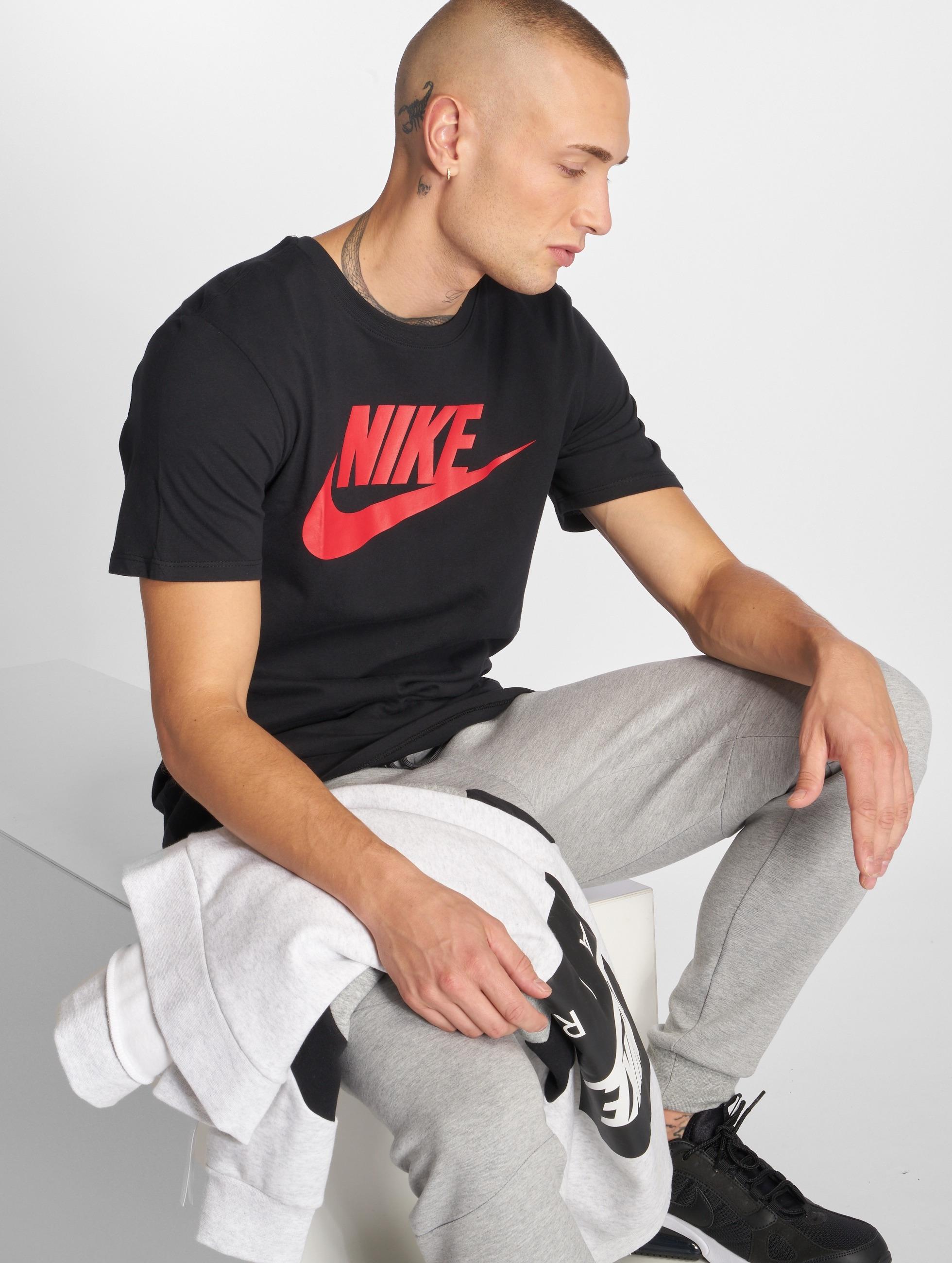 Nike t-shirt Futura Icon zwart