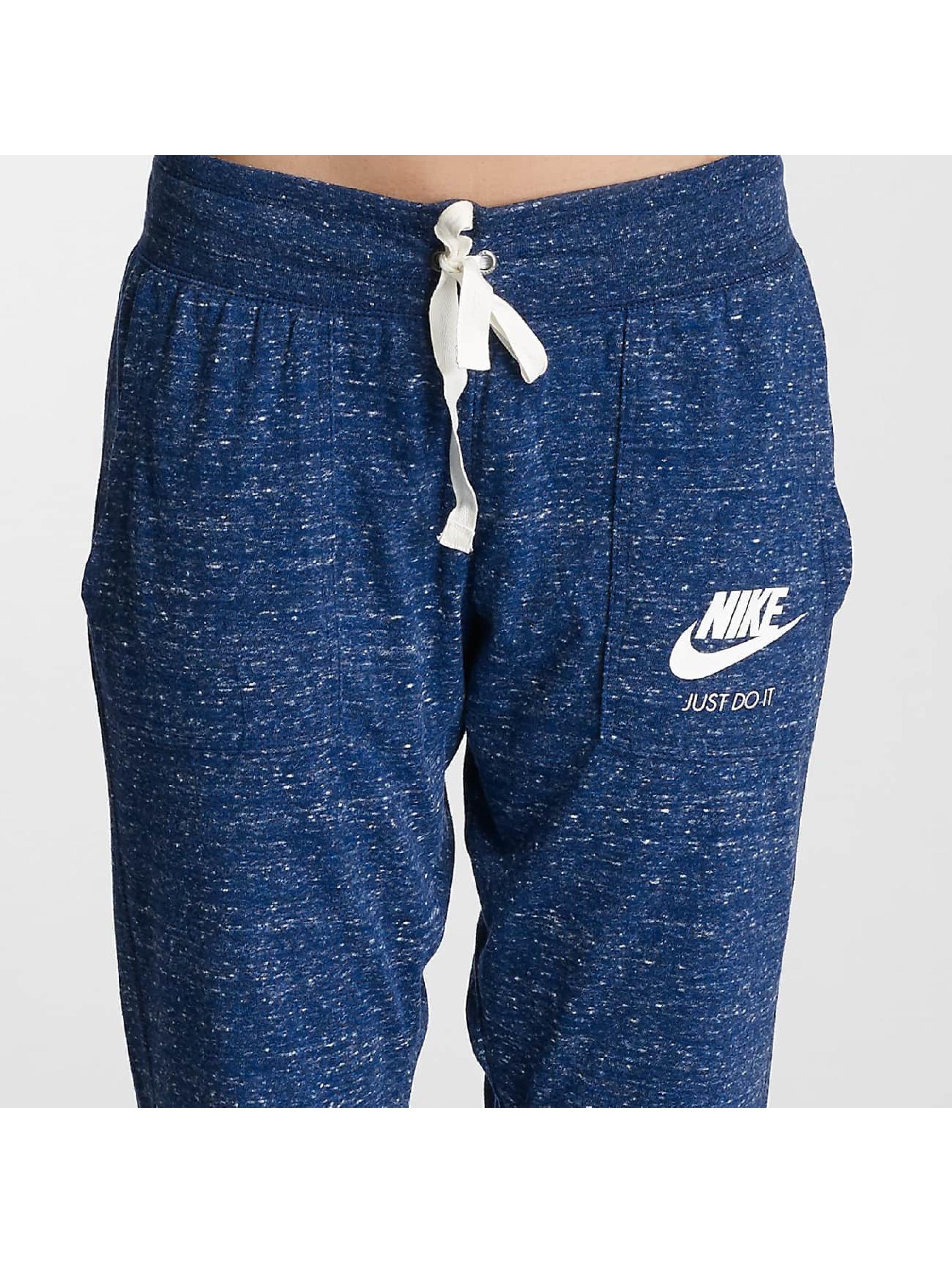 Nike tepláky Gym Vintage modrá