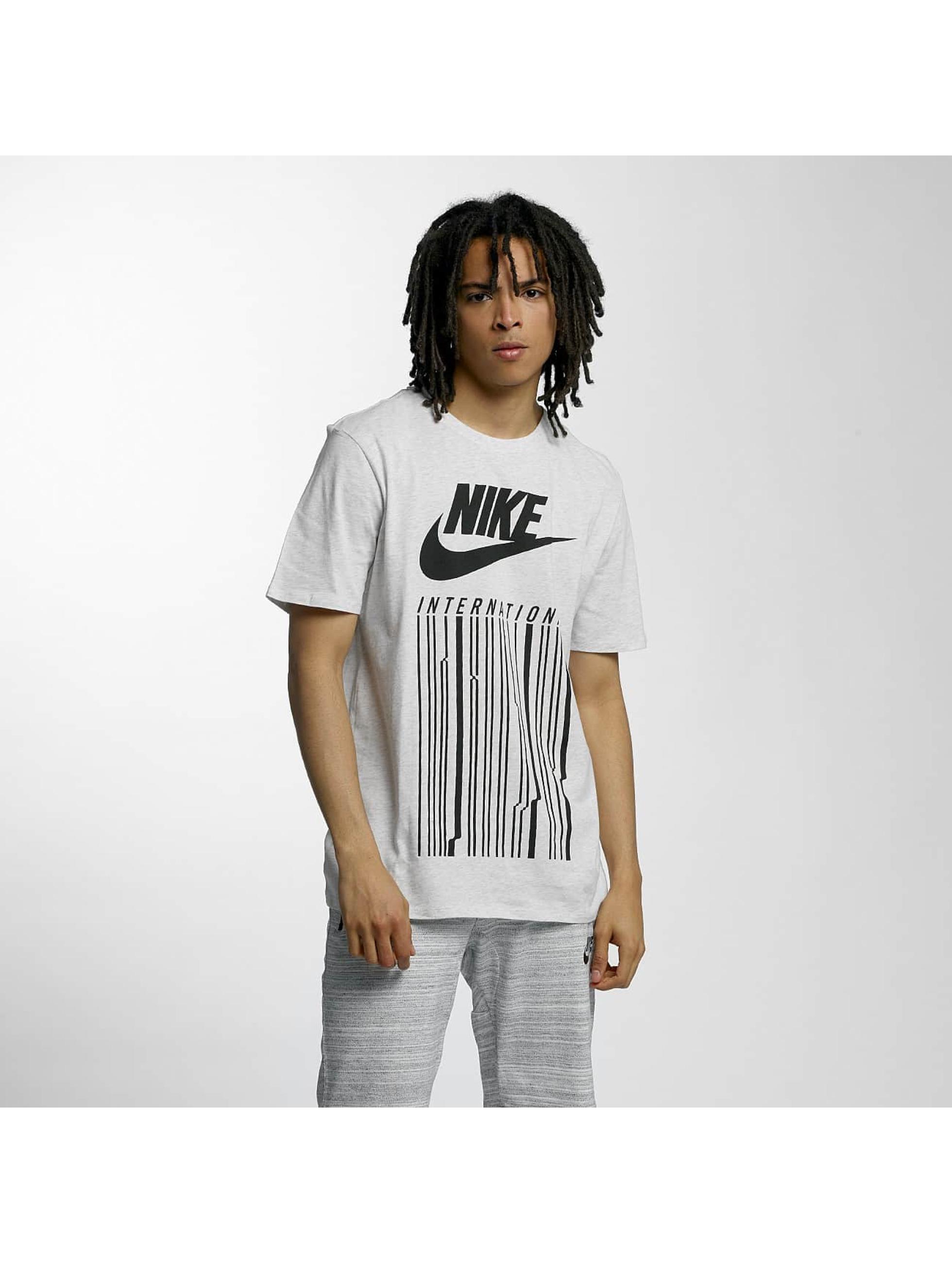 Nike Tričká INTL 1 šedá