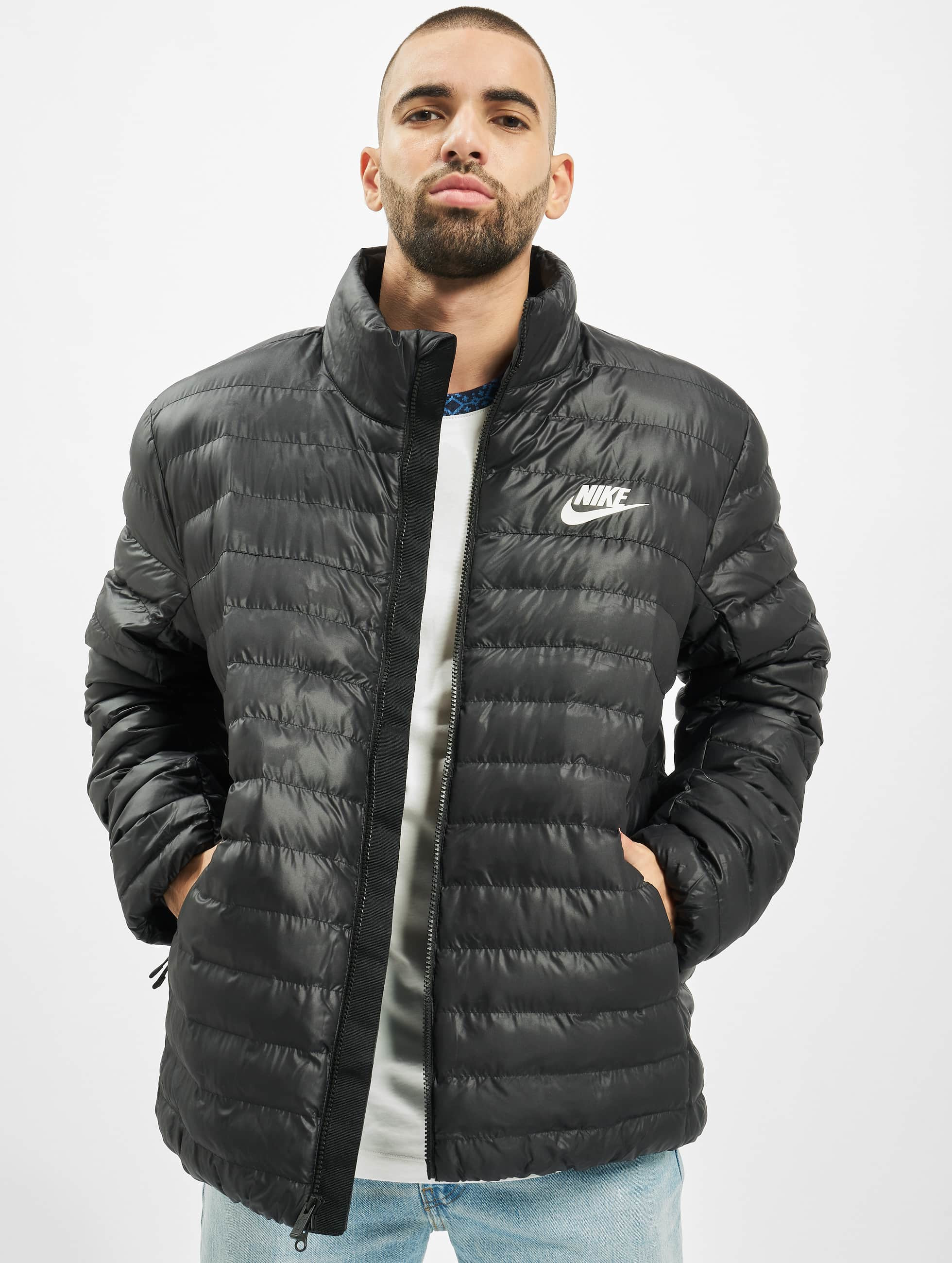 Nike | Synthetic Fill Bubble noir Homme Veste matelassée 711429