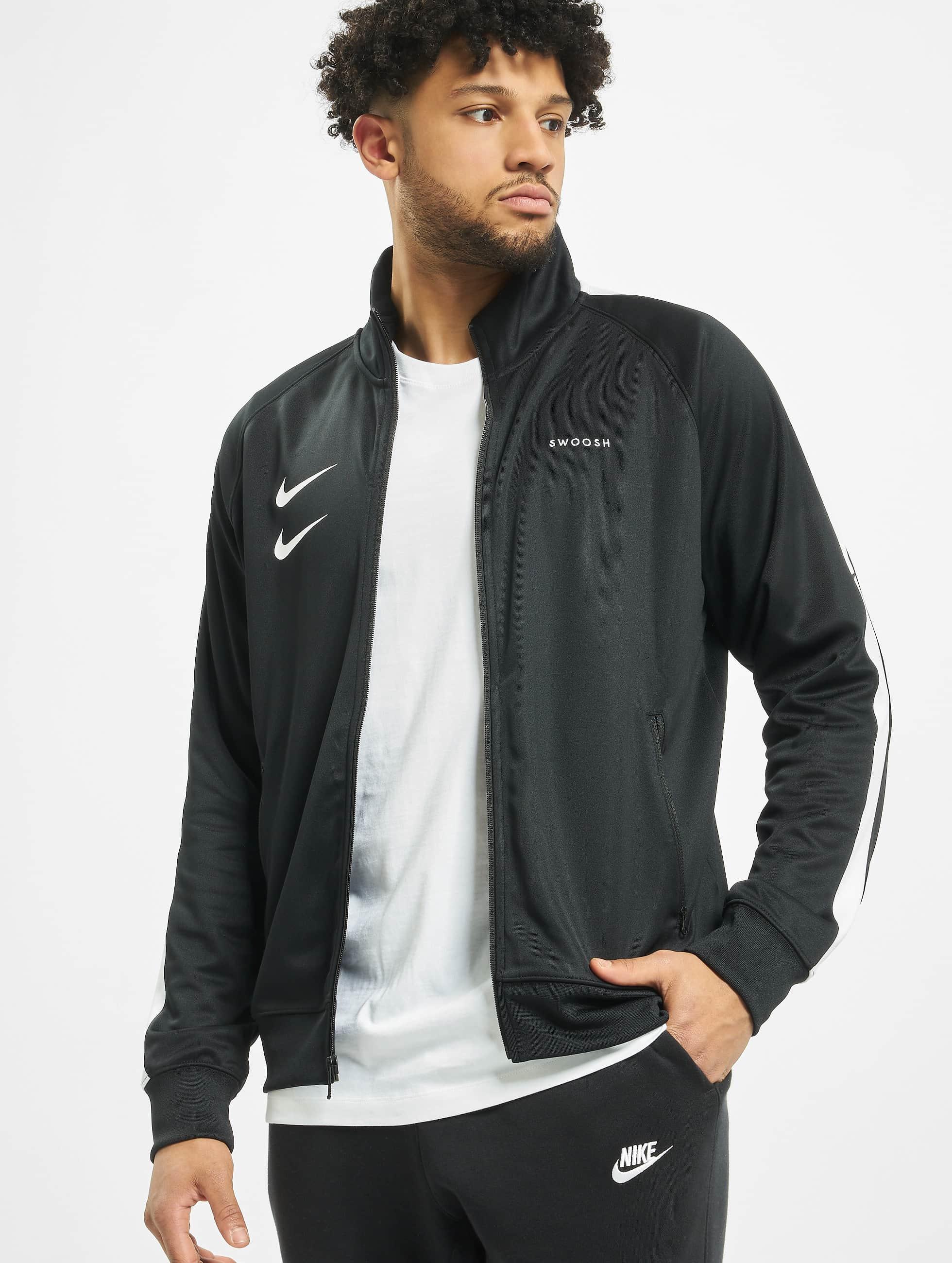 Nike Swoosh PK Transition Jacket BlackWhiteBlackWhite