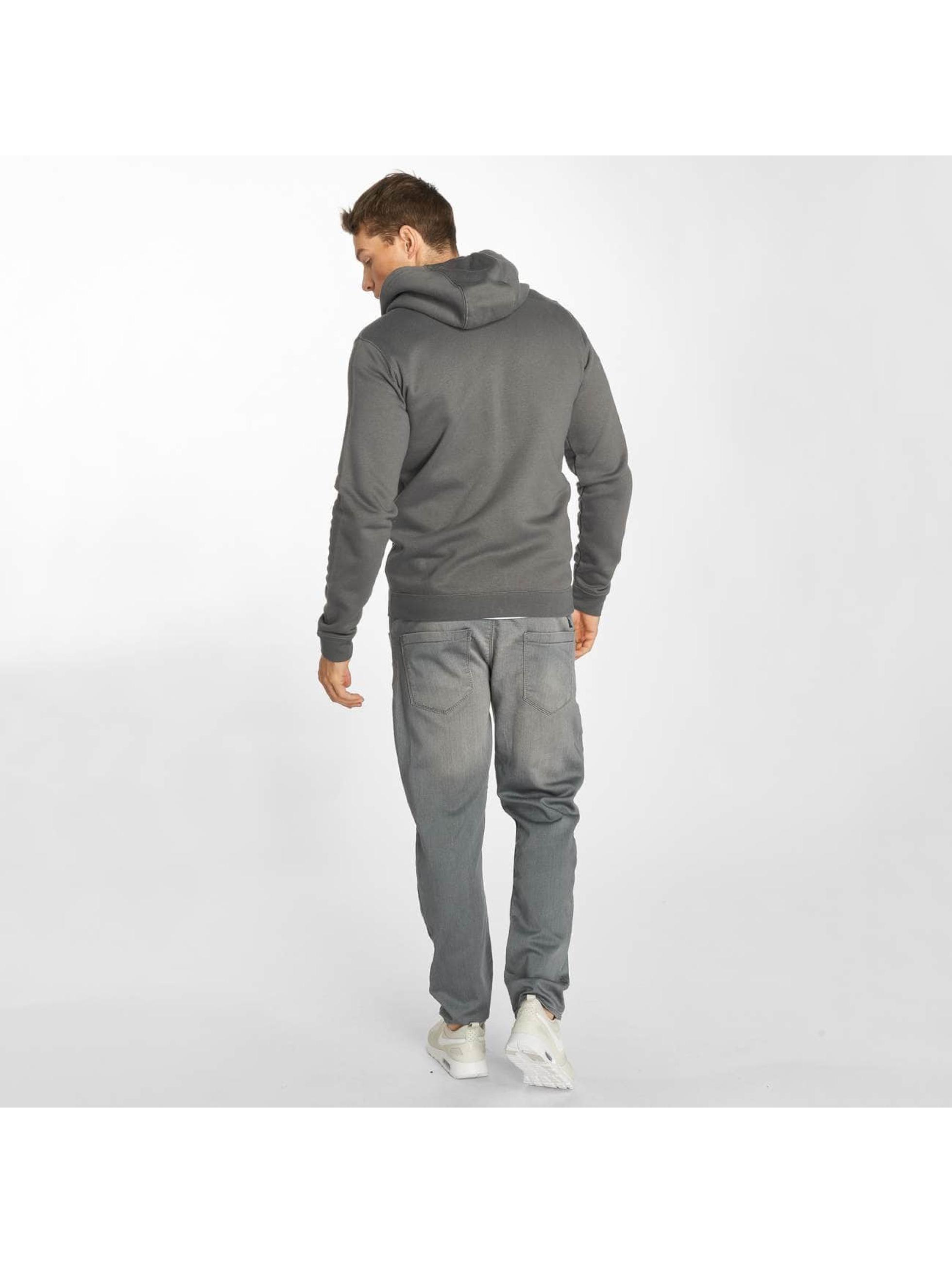 Nike Vetoketjuhupparit Sportswear harmaa