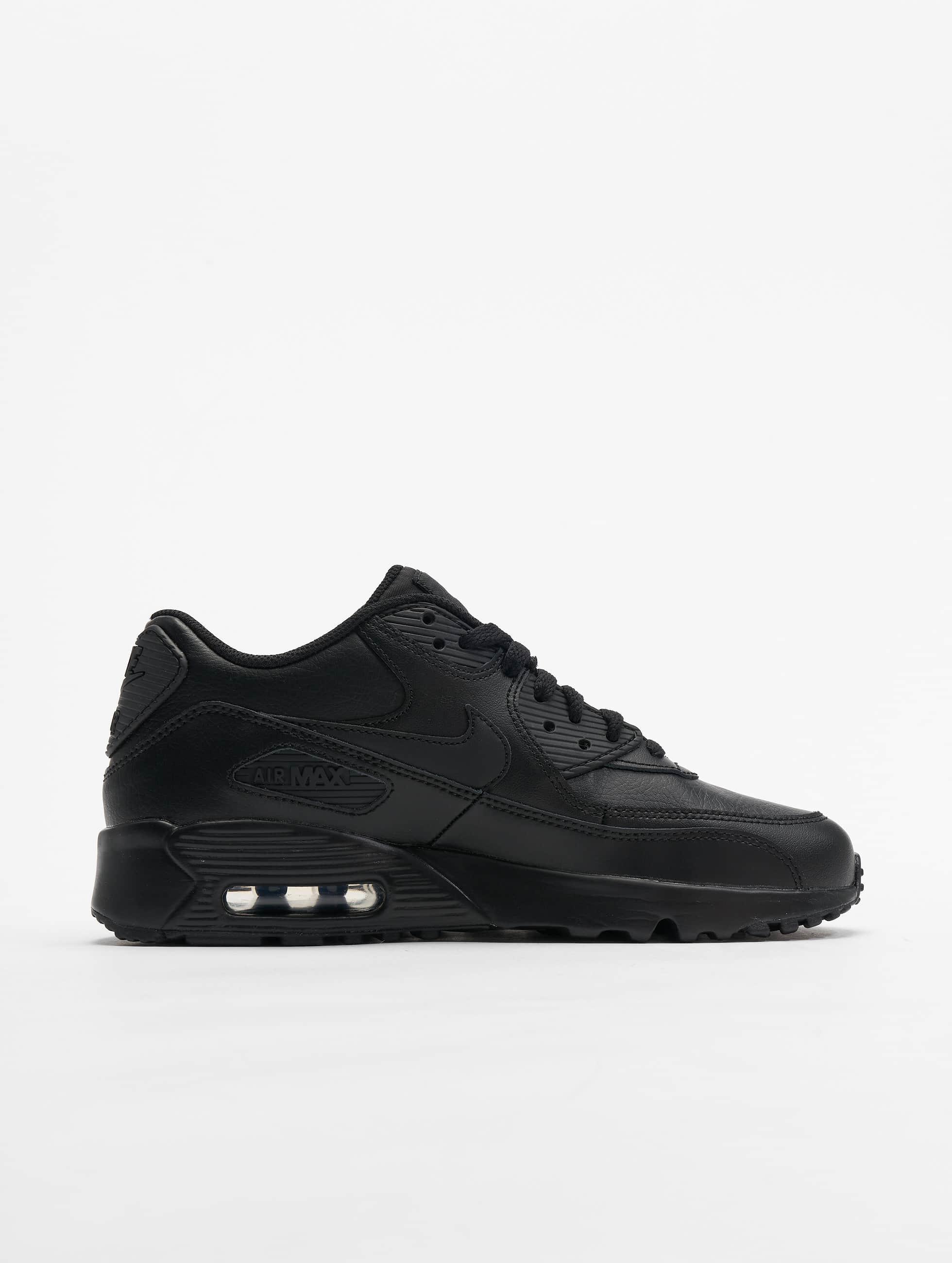 Nike Zapatillas de deporte Air Max 90 Leather (GS) negro