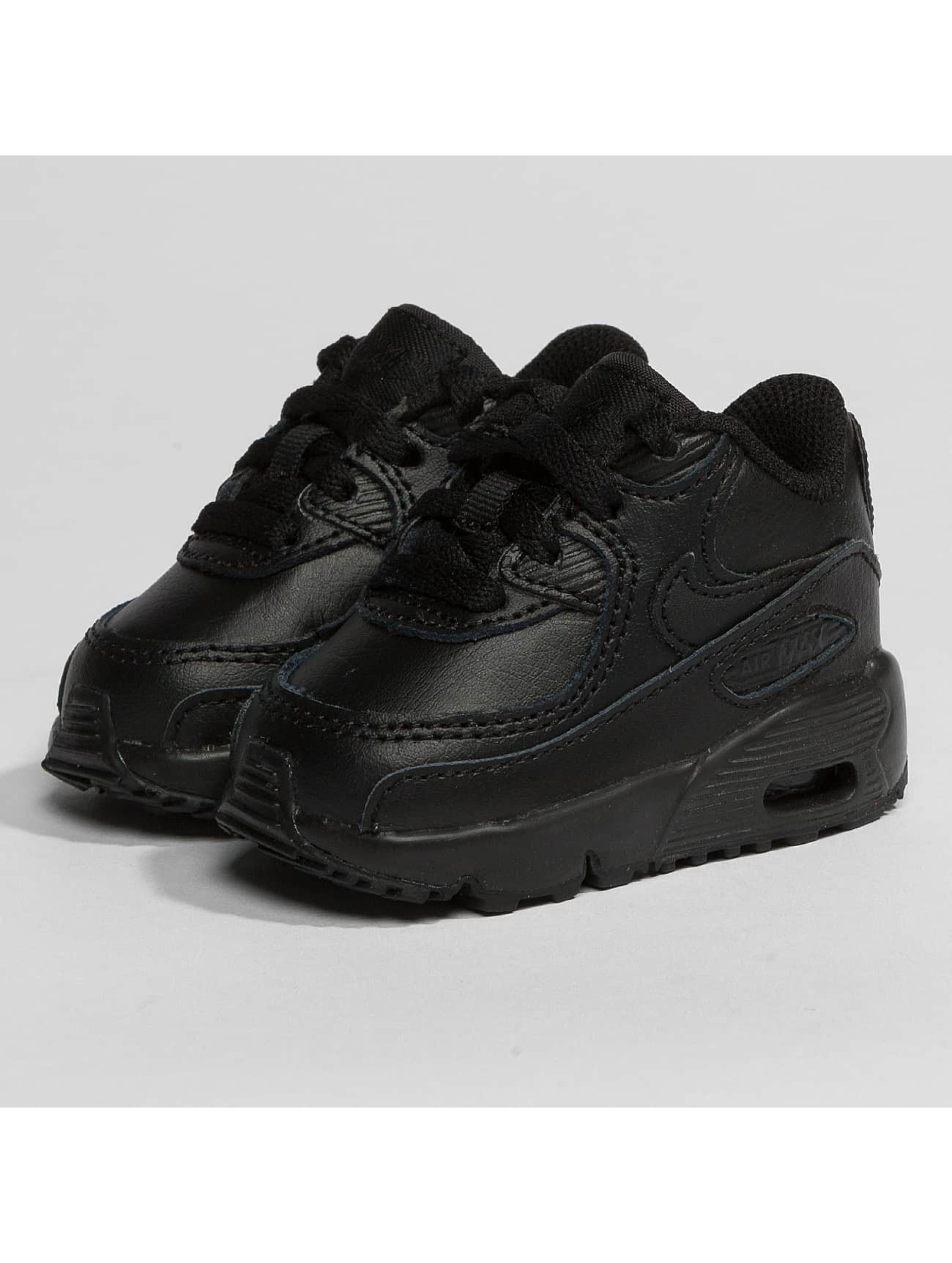 Nike Zapatillas de deporte Air Max 90 Leather Toddler negro
