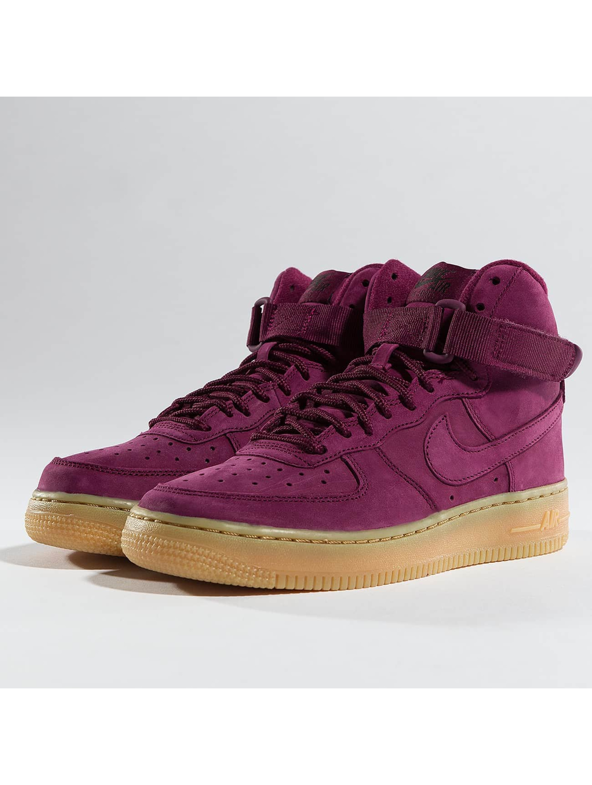 Nike Zapatillas de deporte Air Force 1 High WB rojo