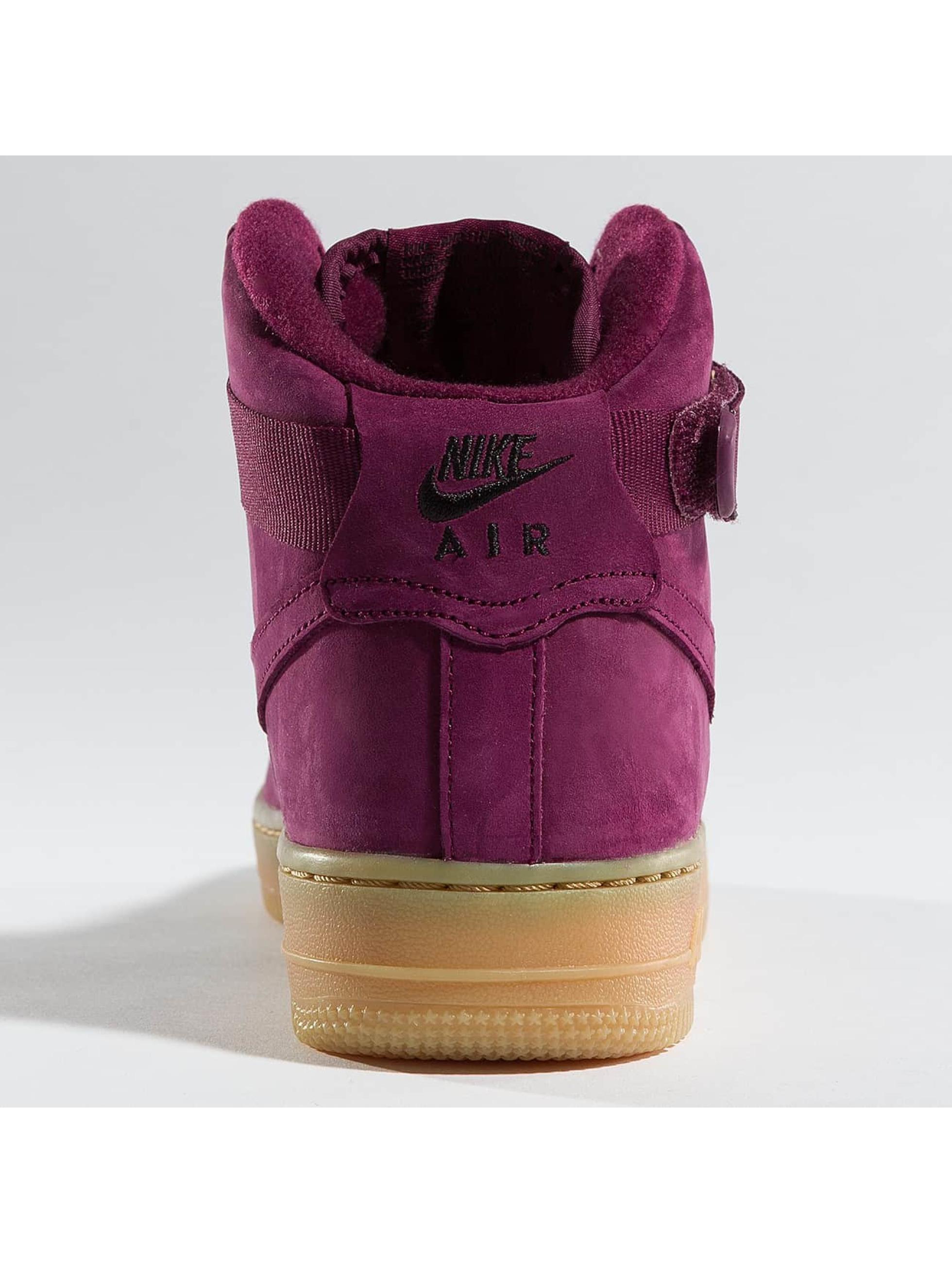 Nike Zapatillas de deporte Air Force 1 High WB rojo