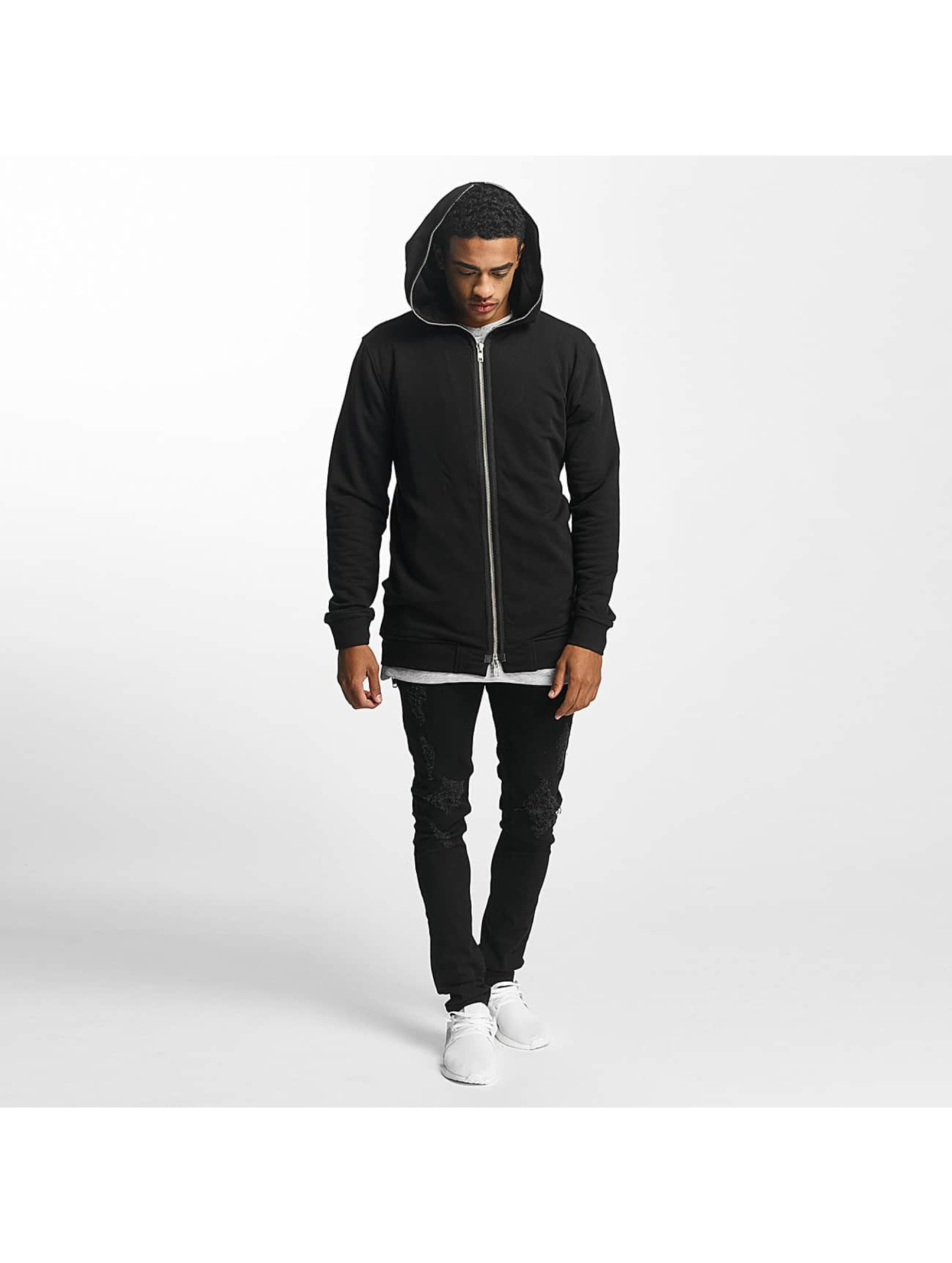 Nobody Berlin Sweat capuche zippé Fullzip noir