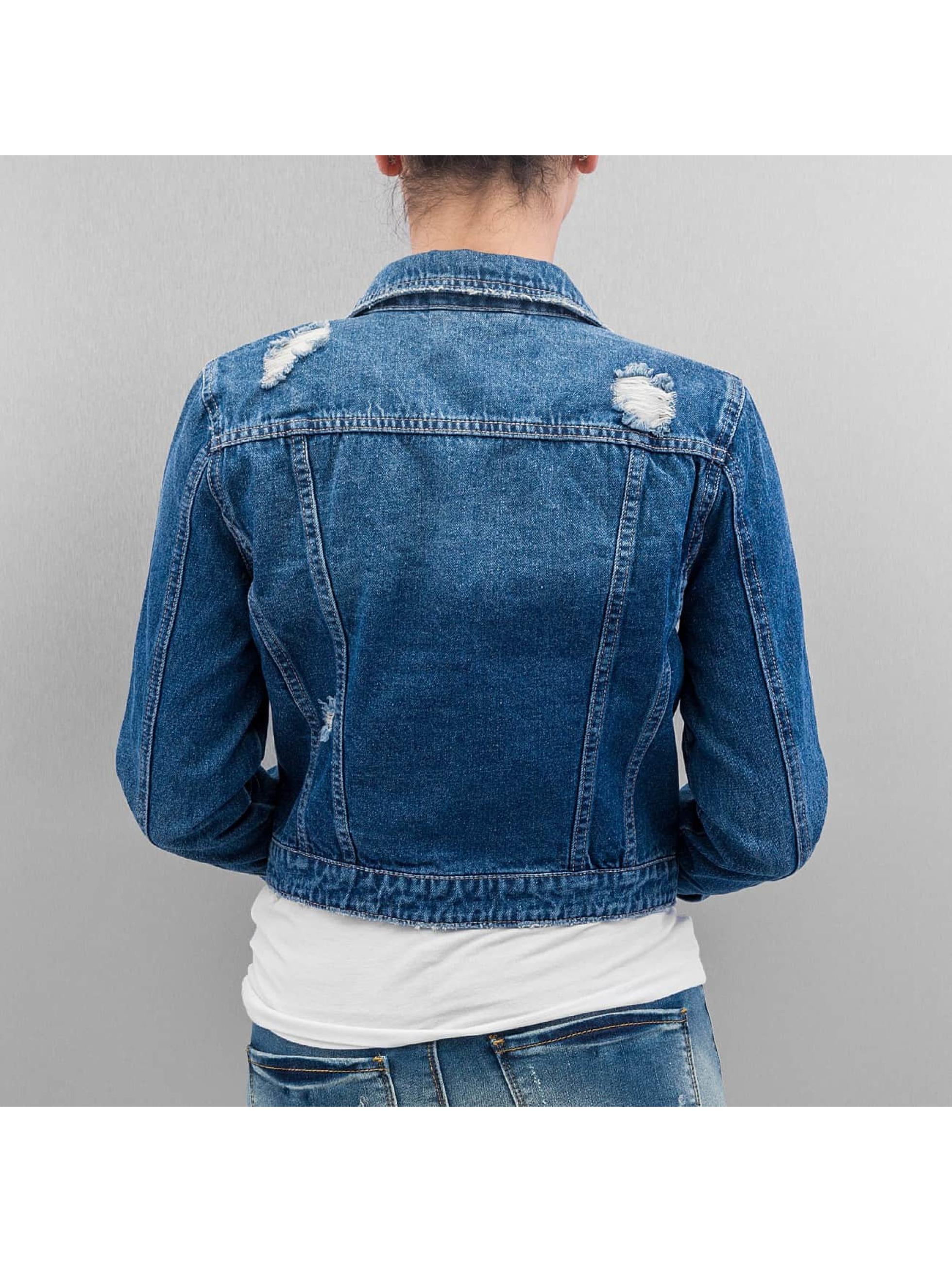 Noisy May Демисезонная куртка nmDizzy синий