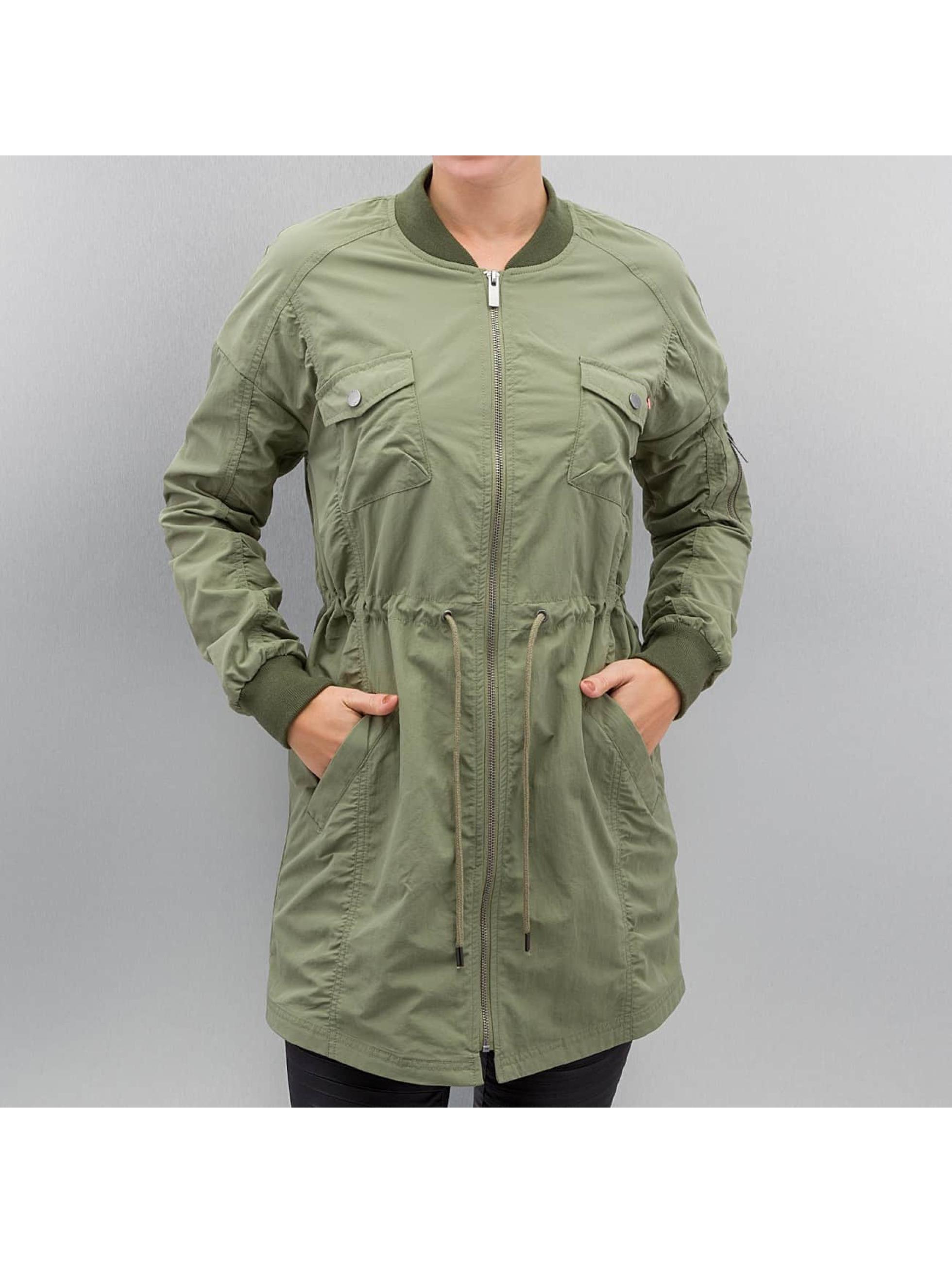 Noisy May Куртка-бомбардир nmShea зеленый