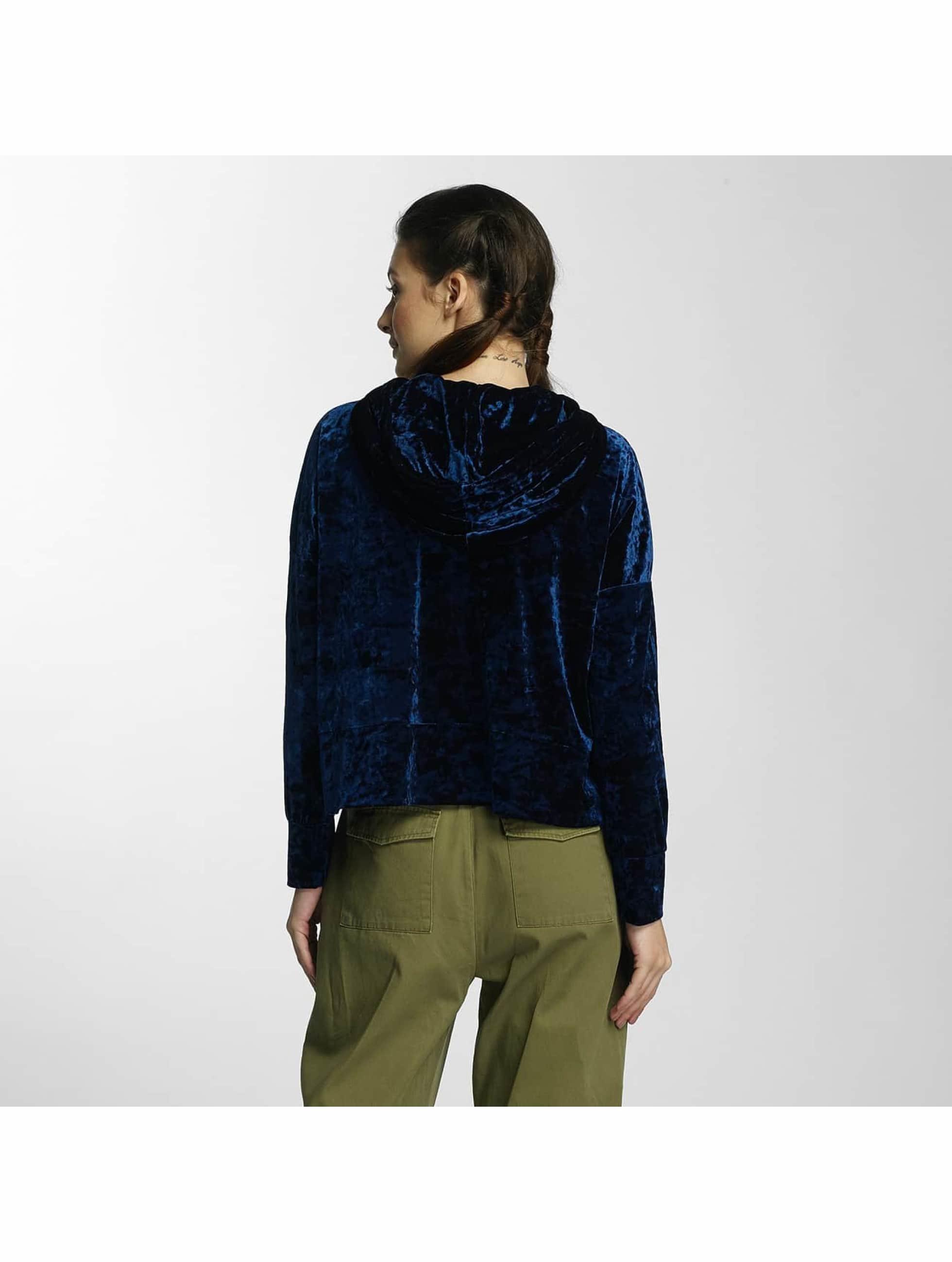 Noisy May Bluzy z kapturem nmGirl niebieski