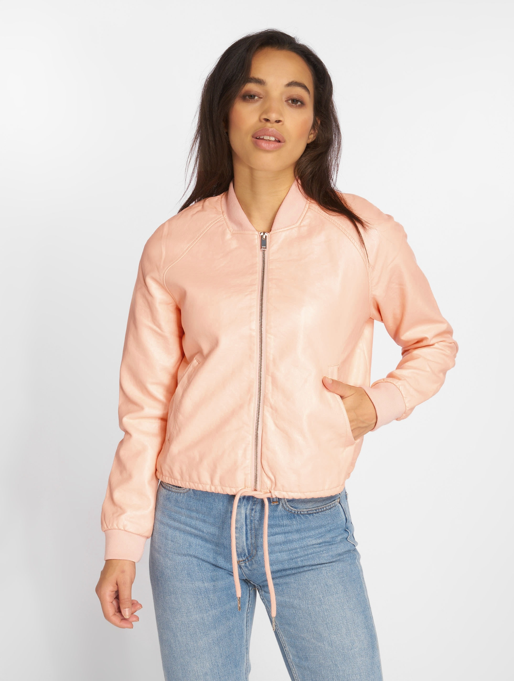 Noisy May Bomberjacke NMShine rosa