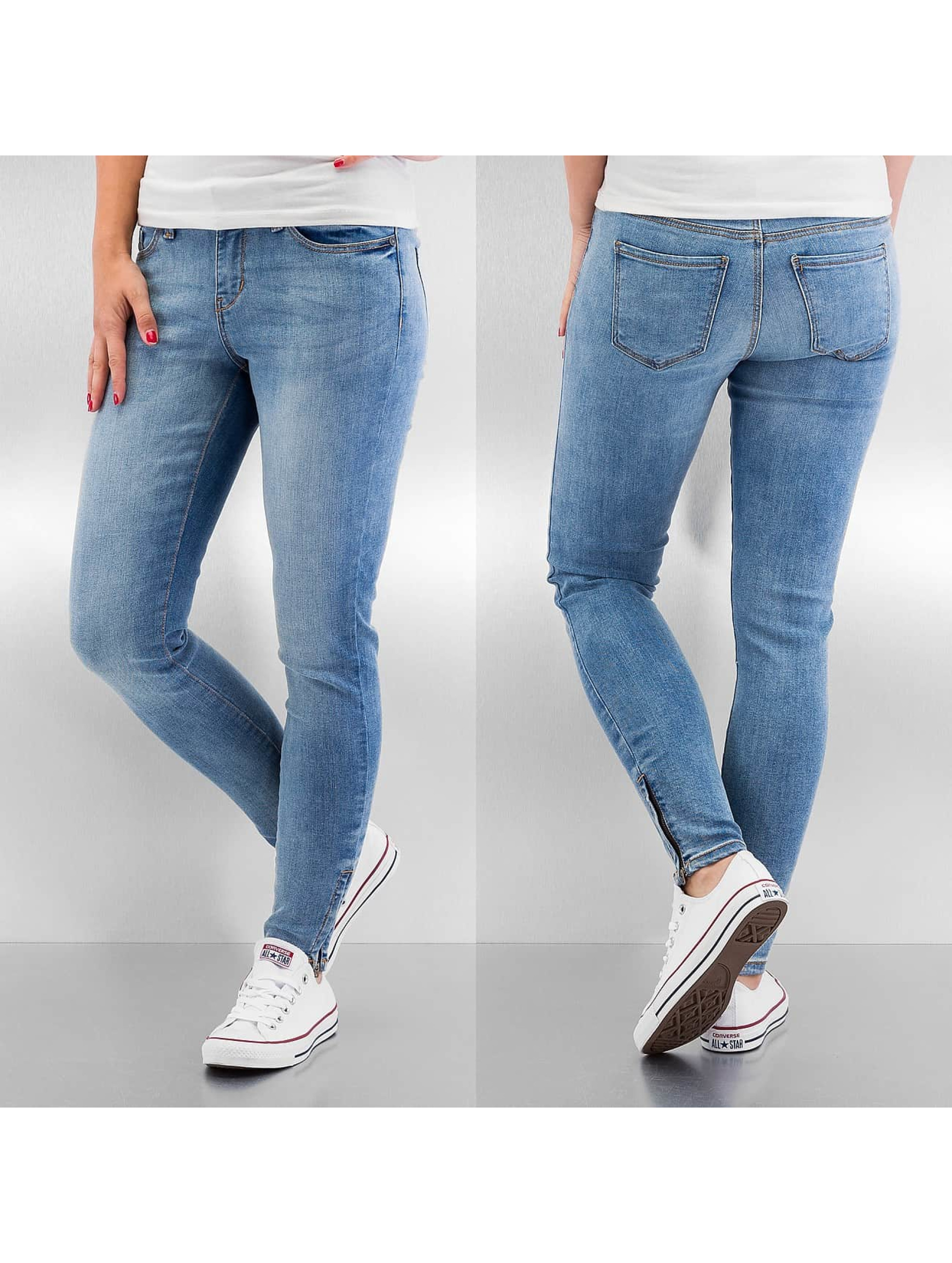Noisy May Jean skinny nmLucy Super Slim Ankle bleu