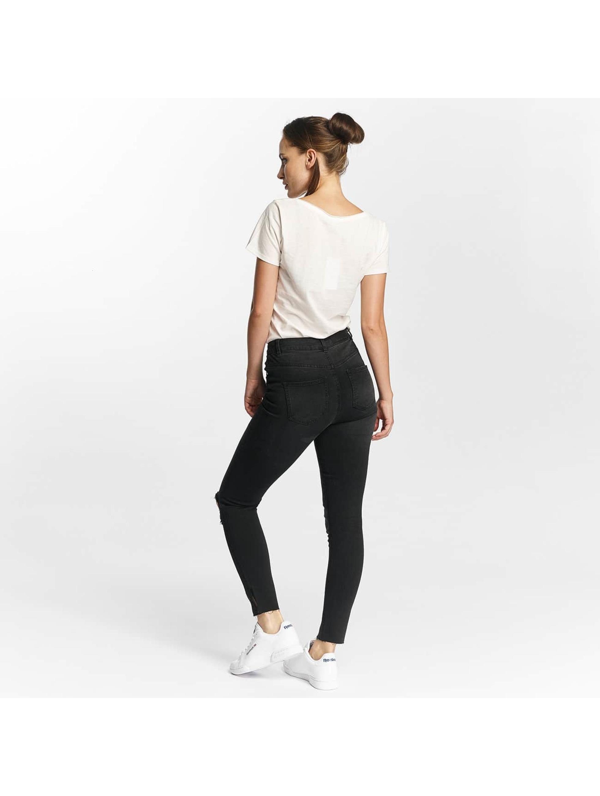 Noisy May Jeans ajustado nmLexi negro