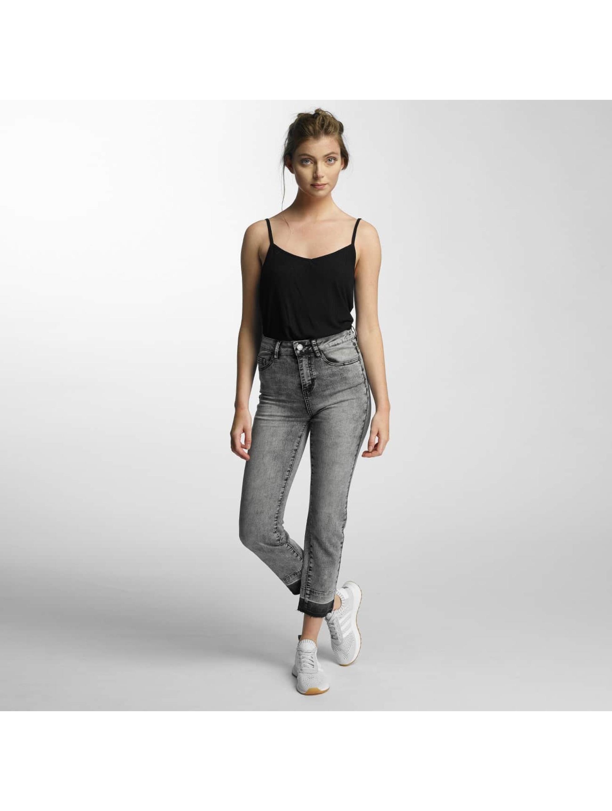 Noisy May Jeans de cintura alta nmTaylor negro