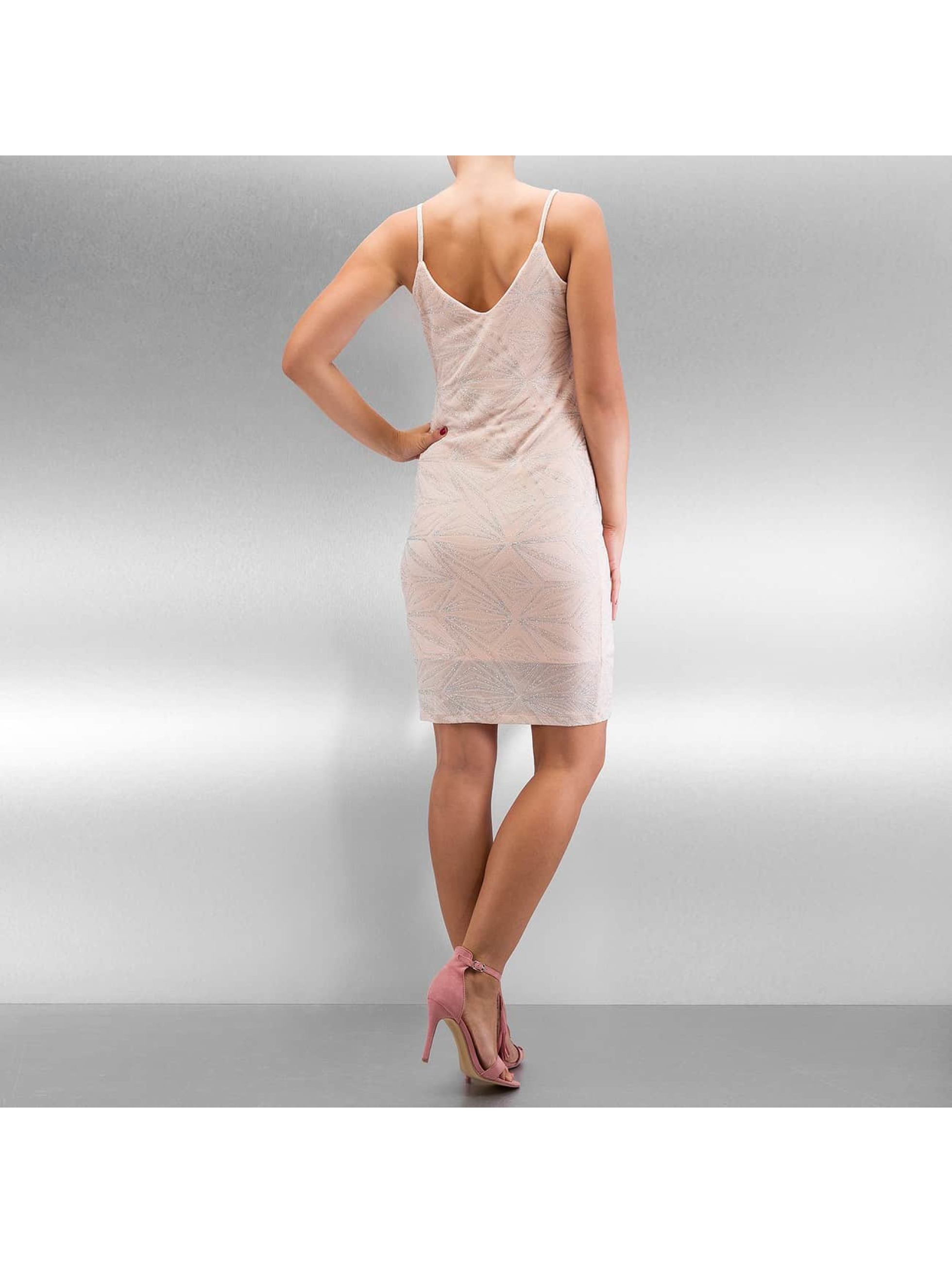 Noisy May Kleid NMGlitter Short rosa