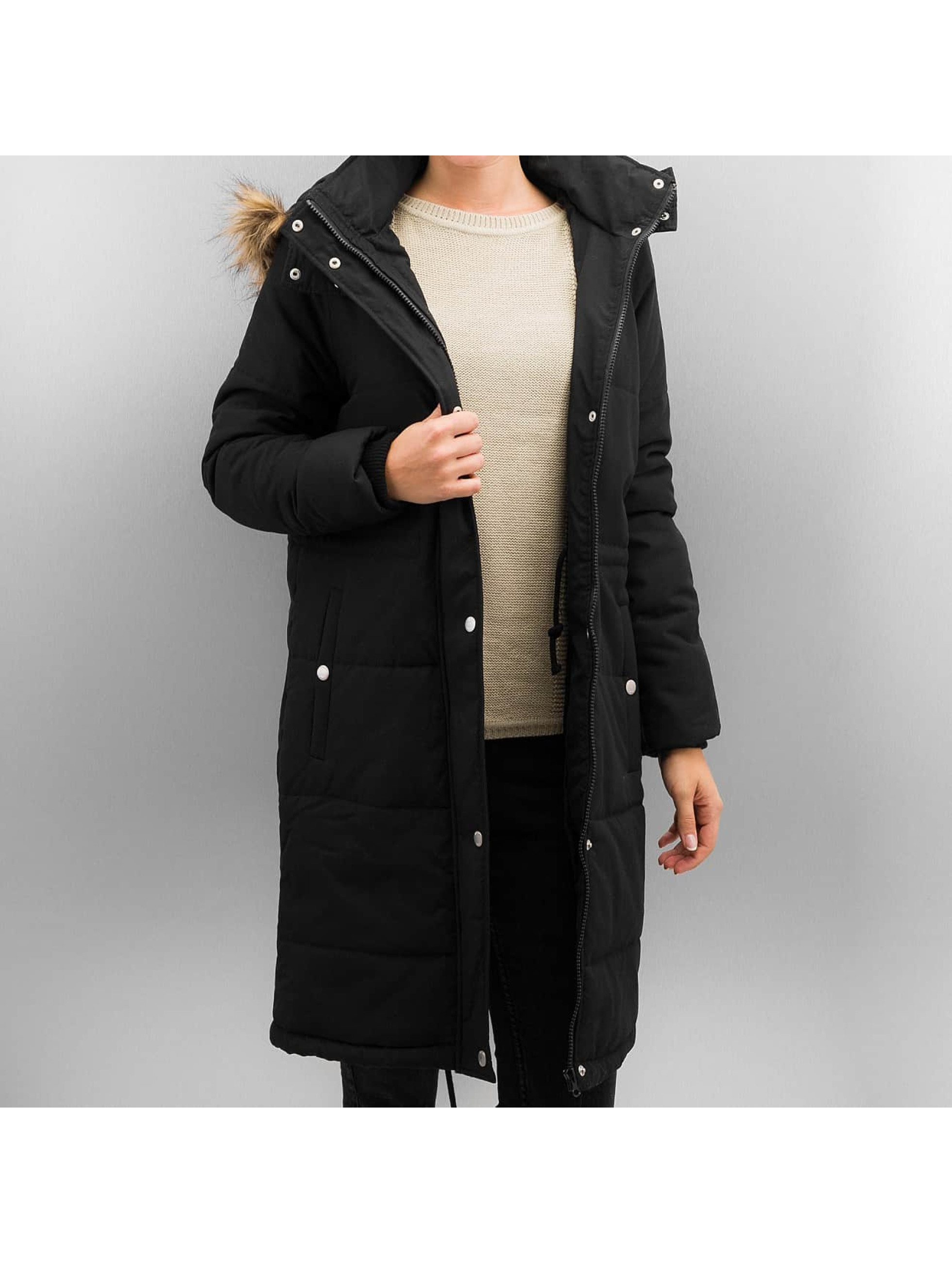 Noisy May Parka NMCamil zwart
