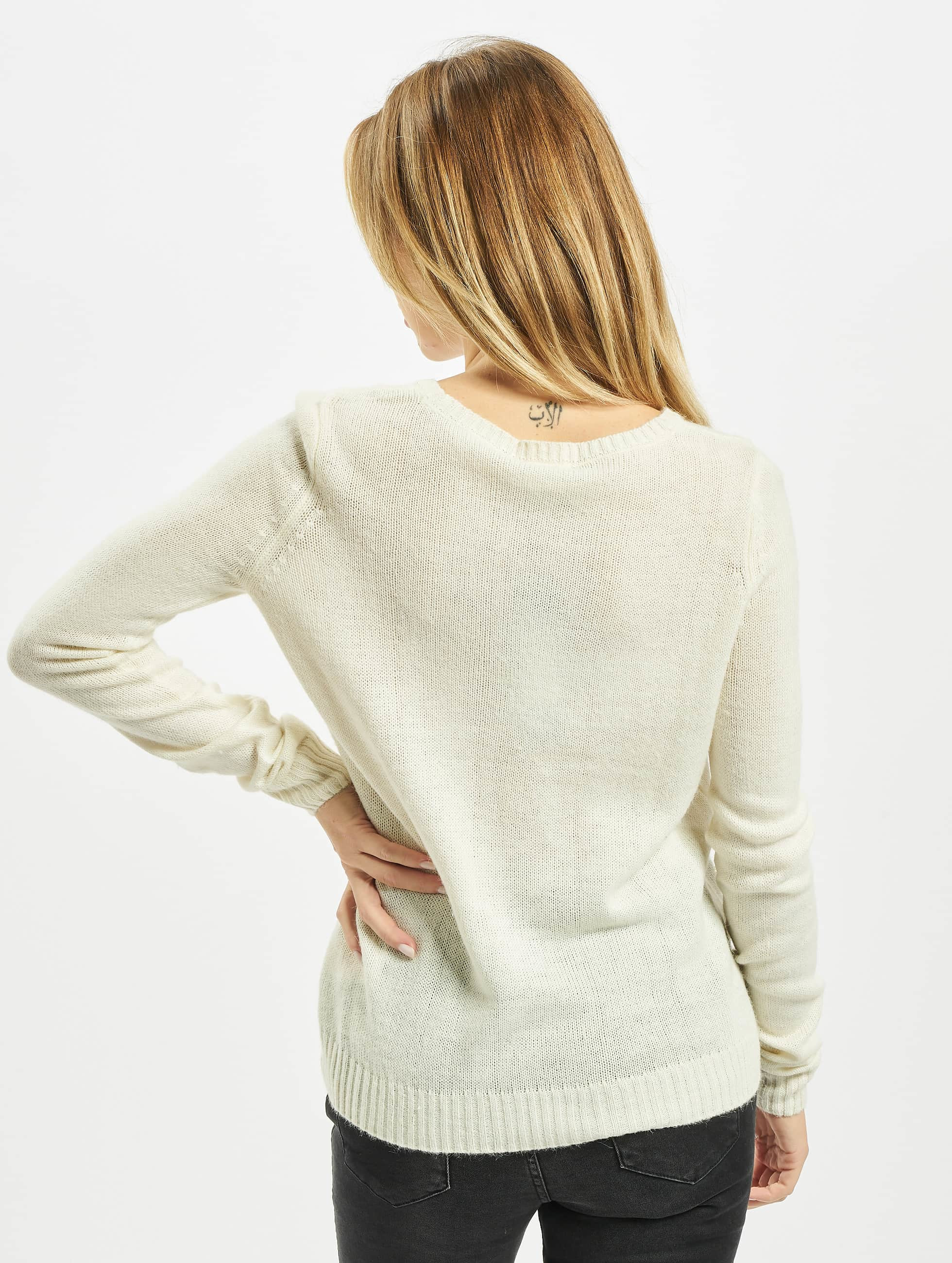 Noisy May Pullover NMBElly beige