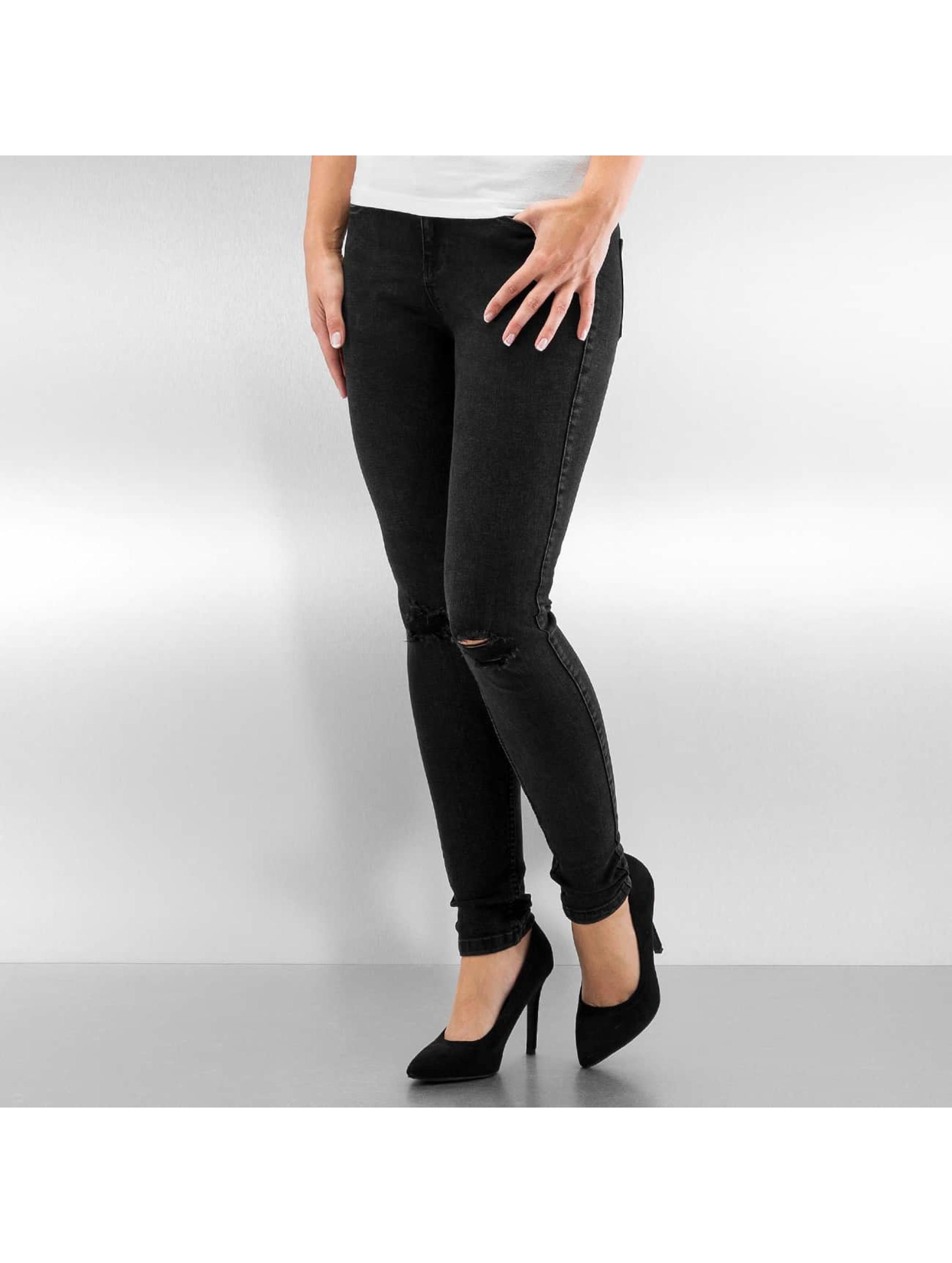 Skinny Jeans NMLucy in schwarz