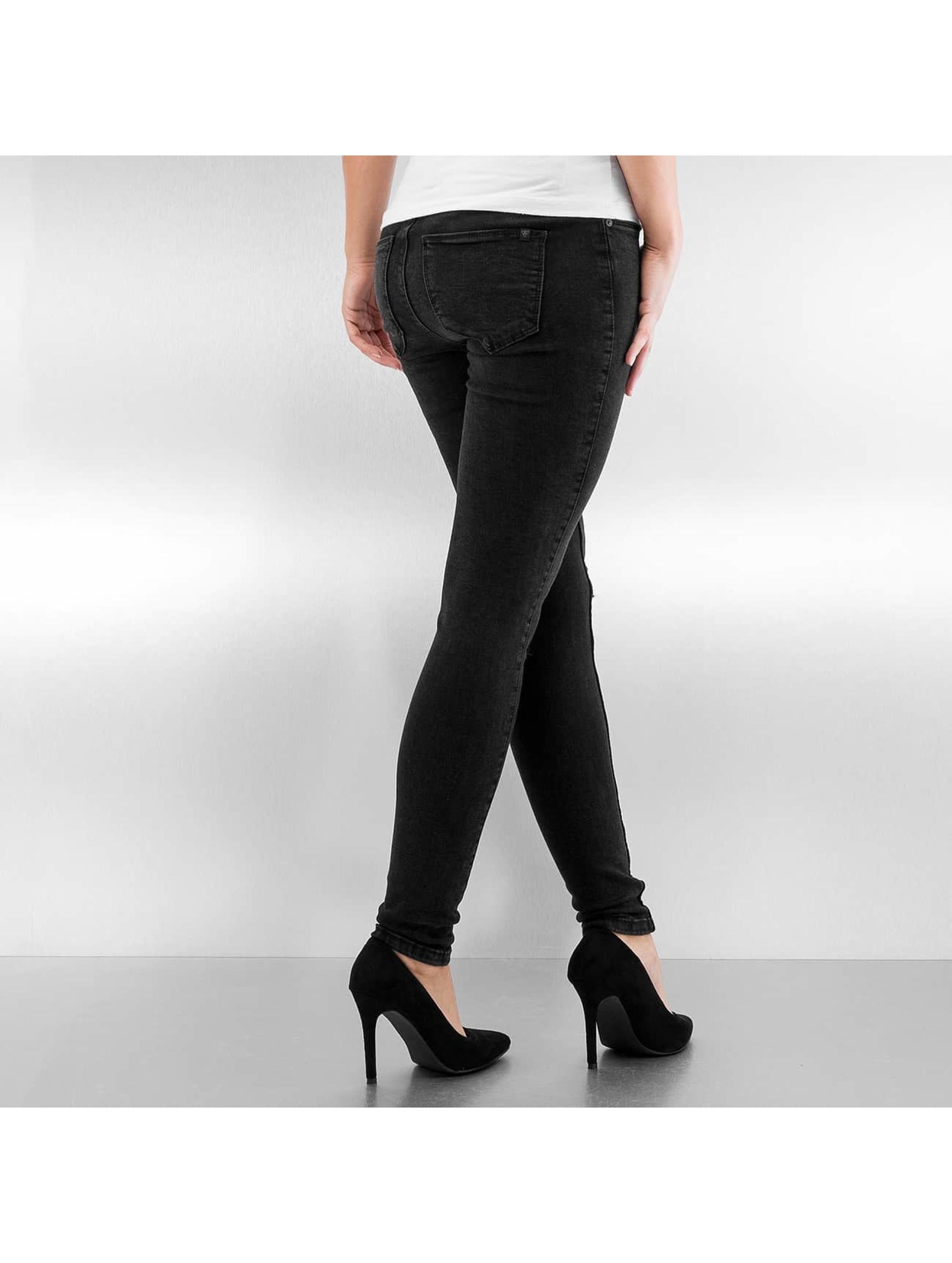 Noisy May Skinny jeans NMLucy zwart
